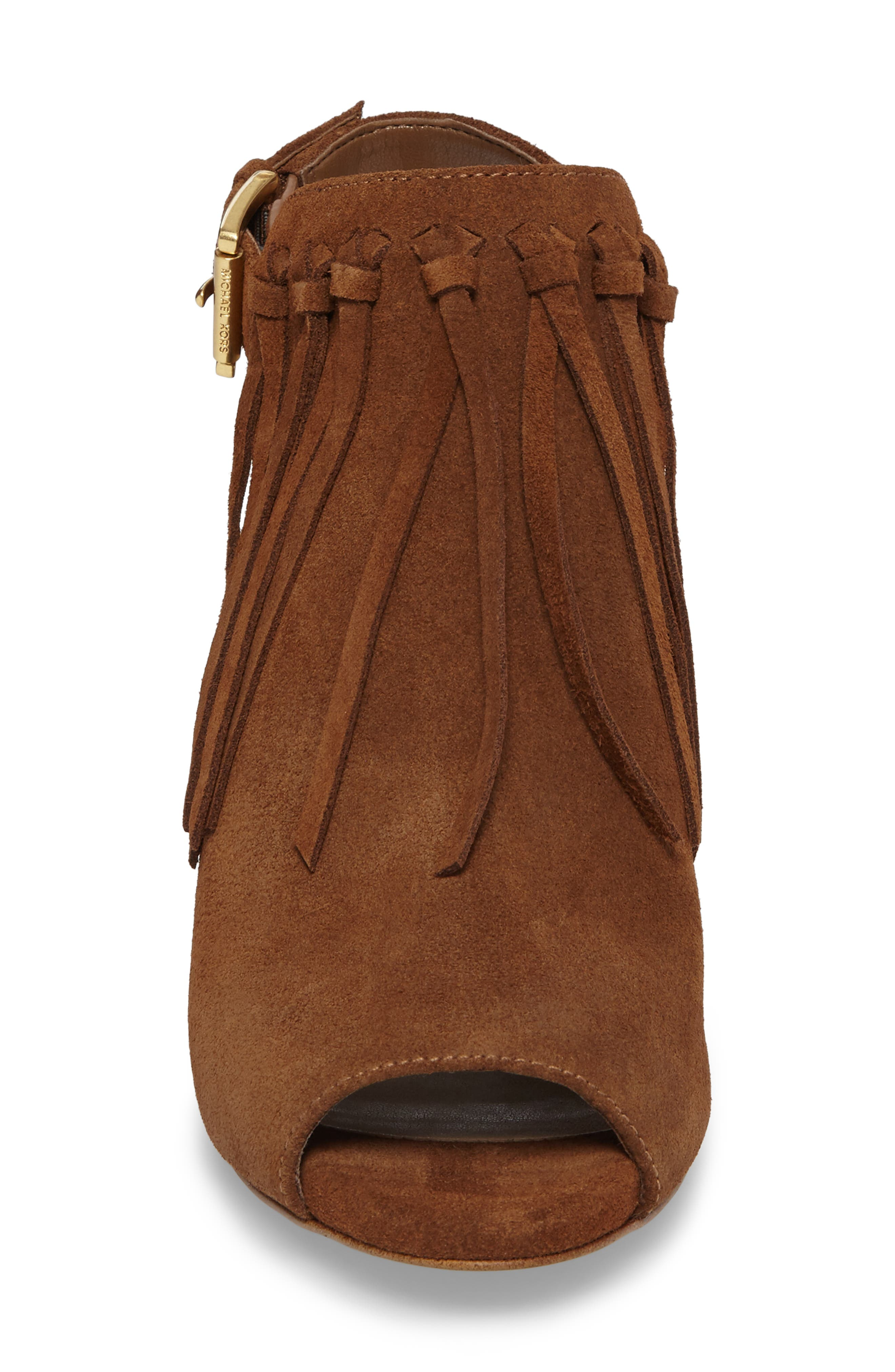 Kassidy Open Toe Bootie,                             Alternate thumbnail 8, color,