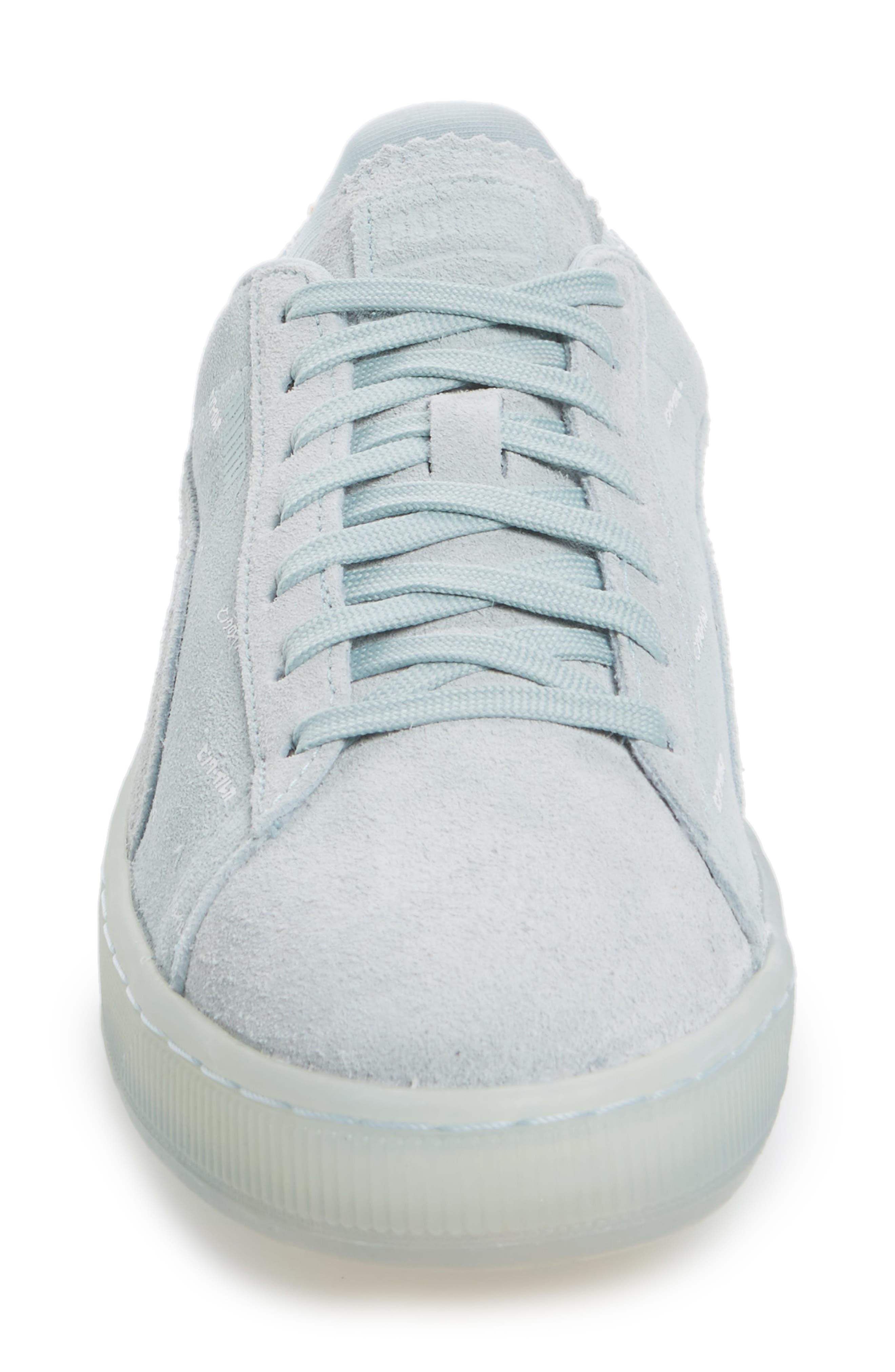 x Pink Dolphin Suede V2 Sneaker,                             Alternate thumbnail 8, color,