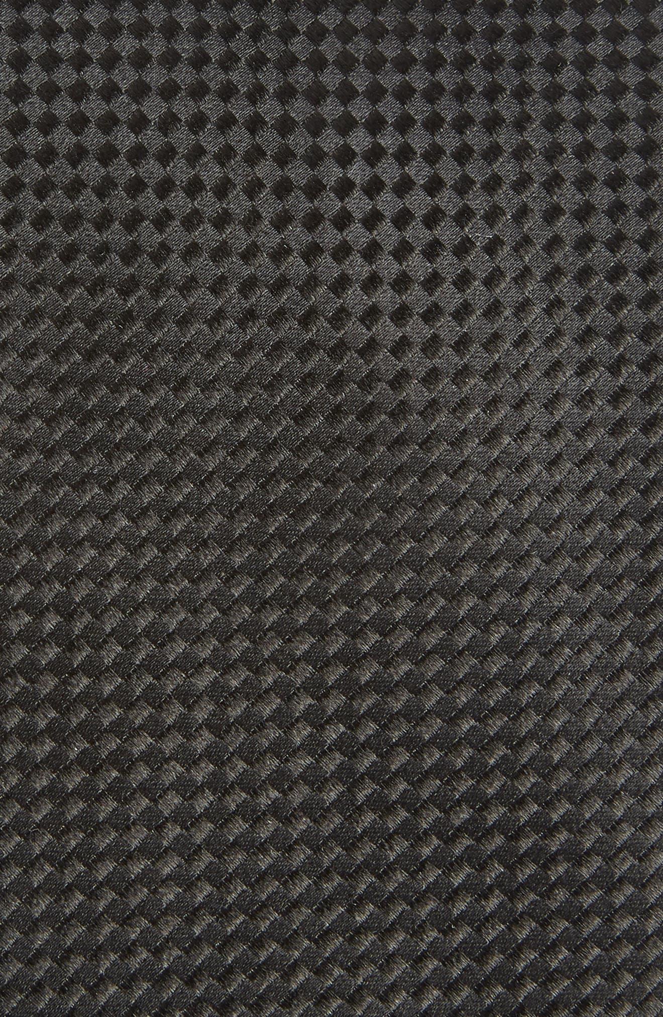Check Silk Tie,                             Alternate thumbnail 2, color,                             001