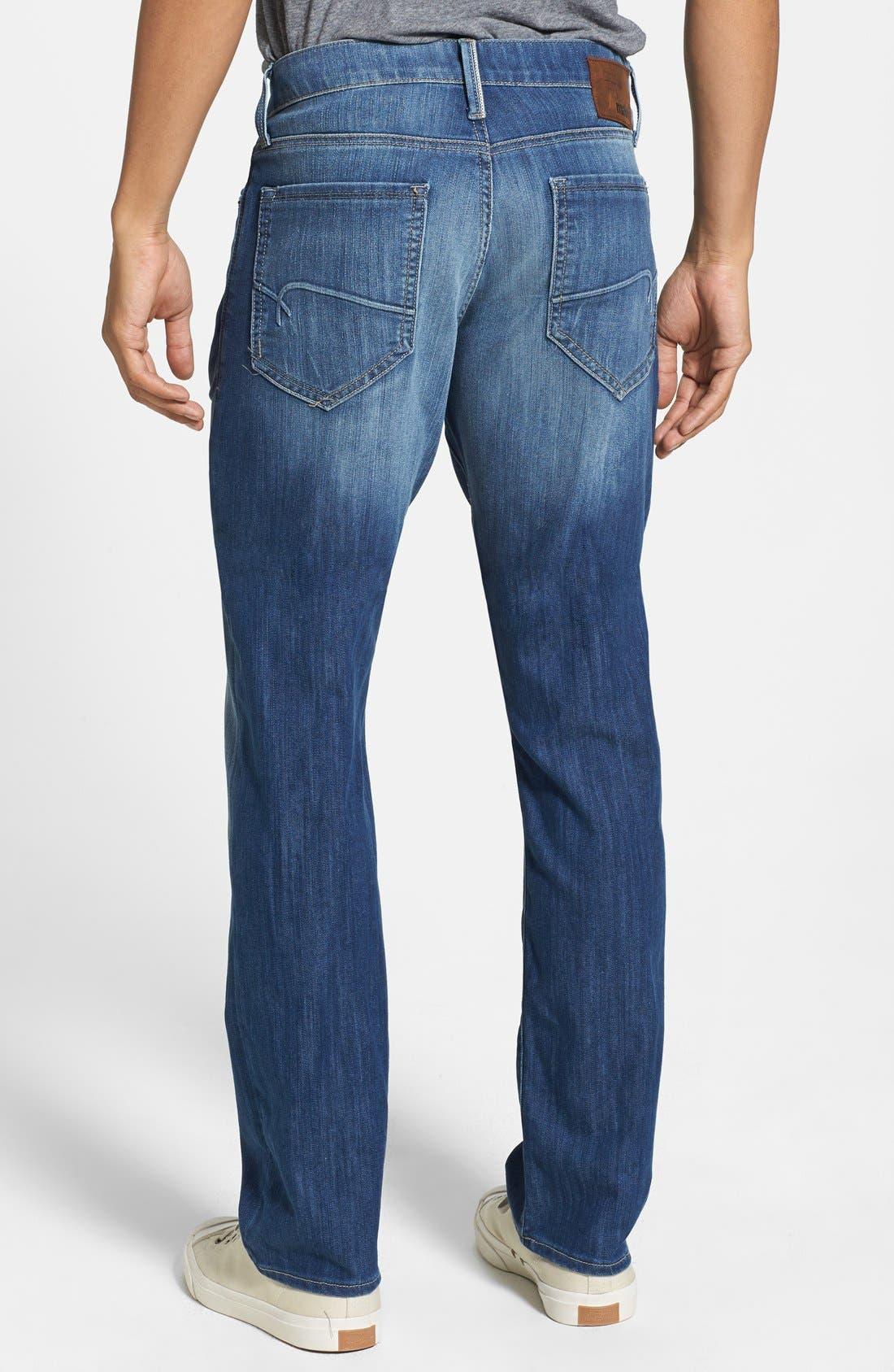 'Myles' Straight Leg Jeans,                             Alternate thumbnail 2, color,                             420