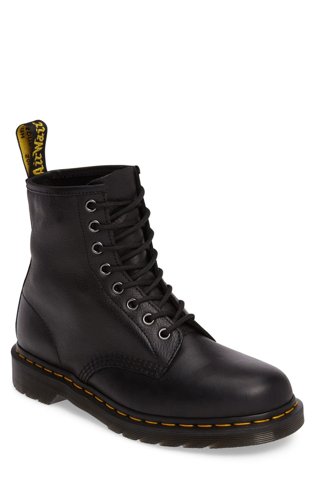 '1460' Plain Toe Boot,                         Main,                         color, 001