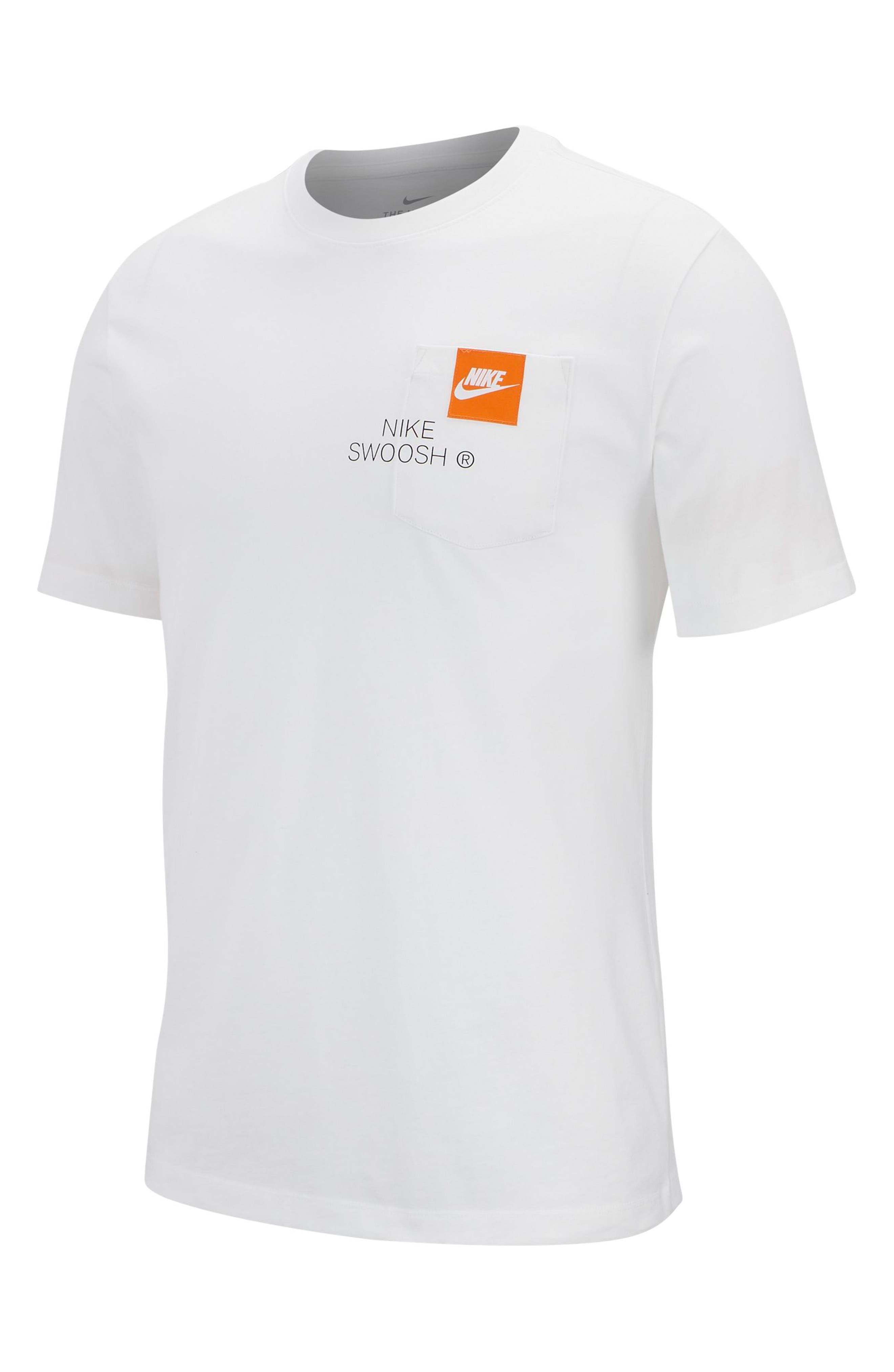 Sportswear Men's T-Shirt, Main, color, WHITE