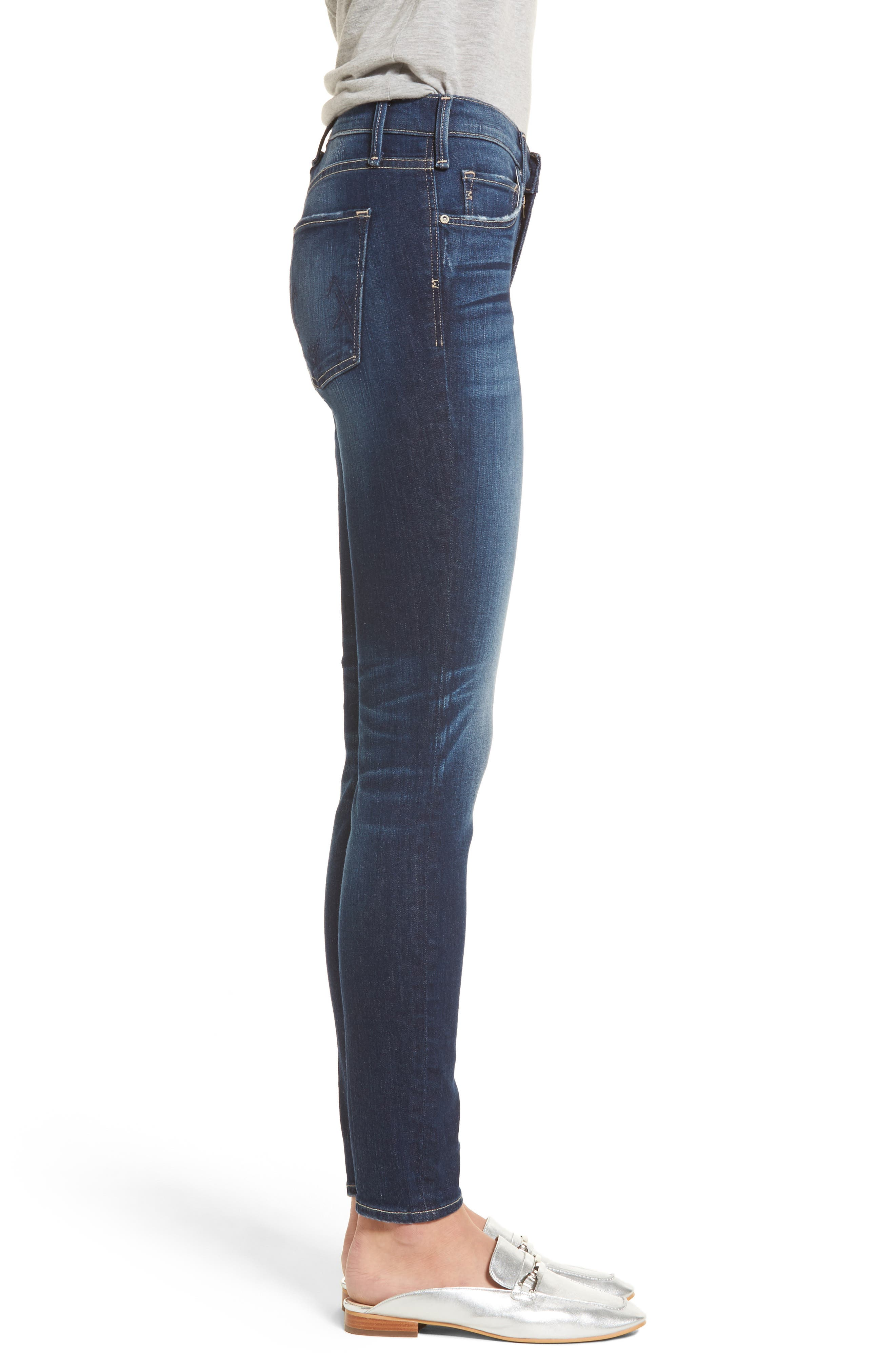 Newton Skinny Jeans,                             Alternate thumbnail 3, color,                             429