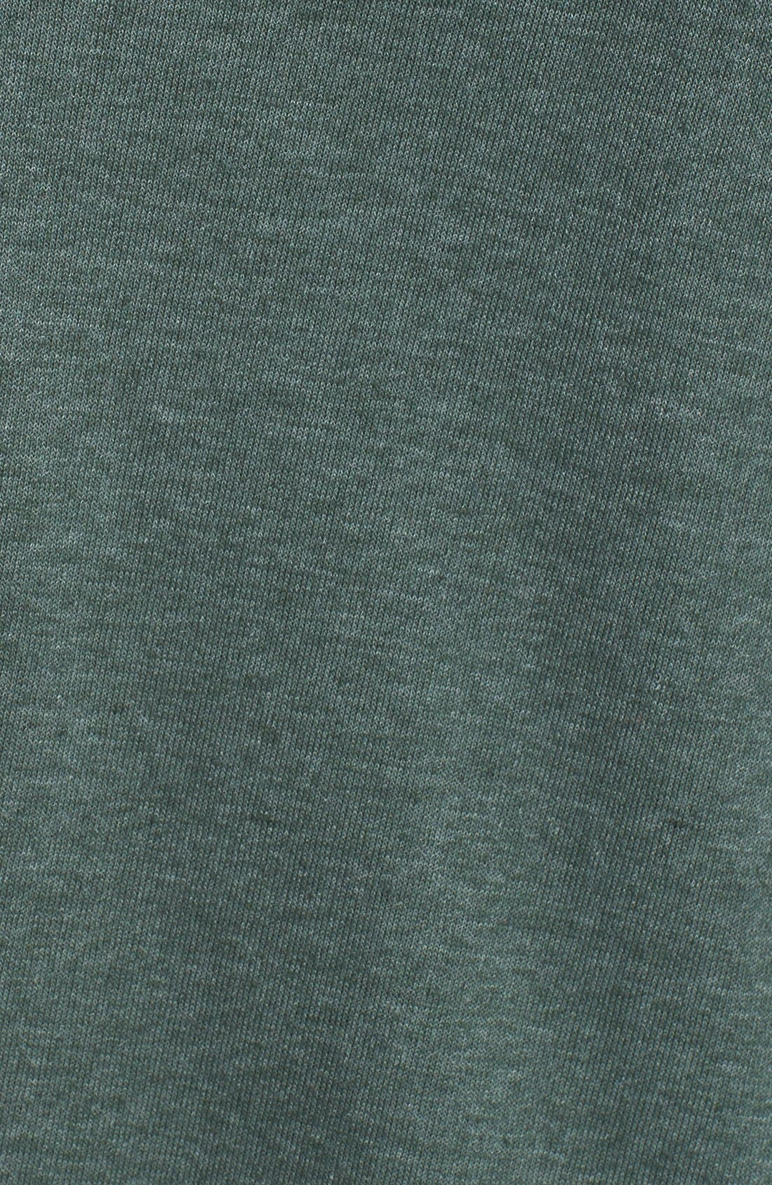 Threads for Thought Trim Fit Heathered Hoodie,                             Main thumbnail 5, color,