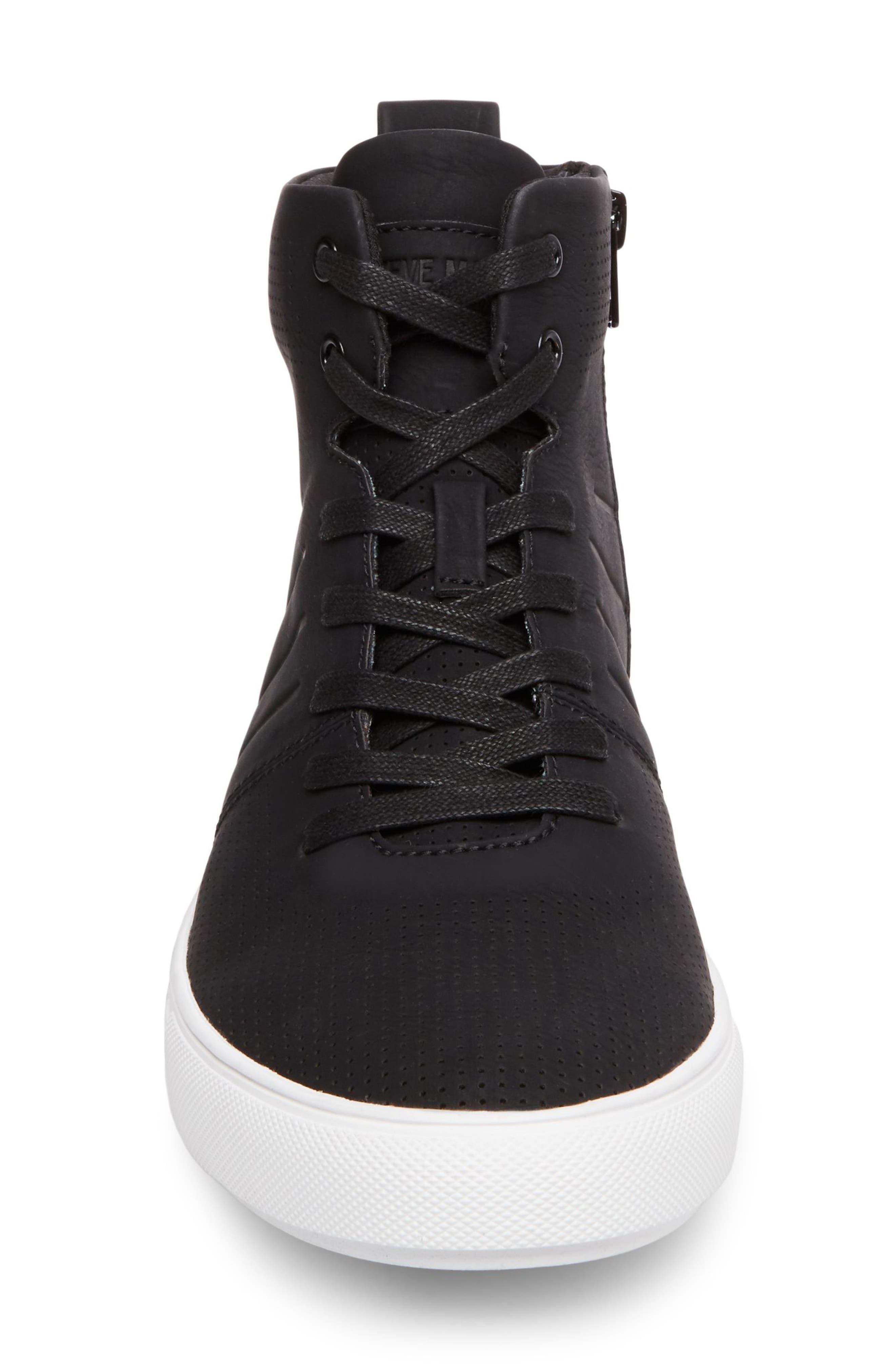 Eskape Sneaker,                             Alternate thumbnail 4, color,                             BLACK