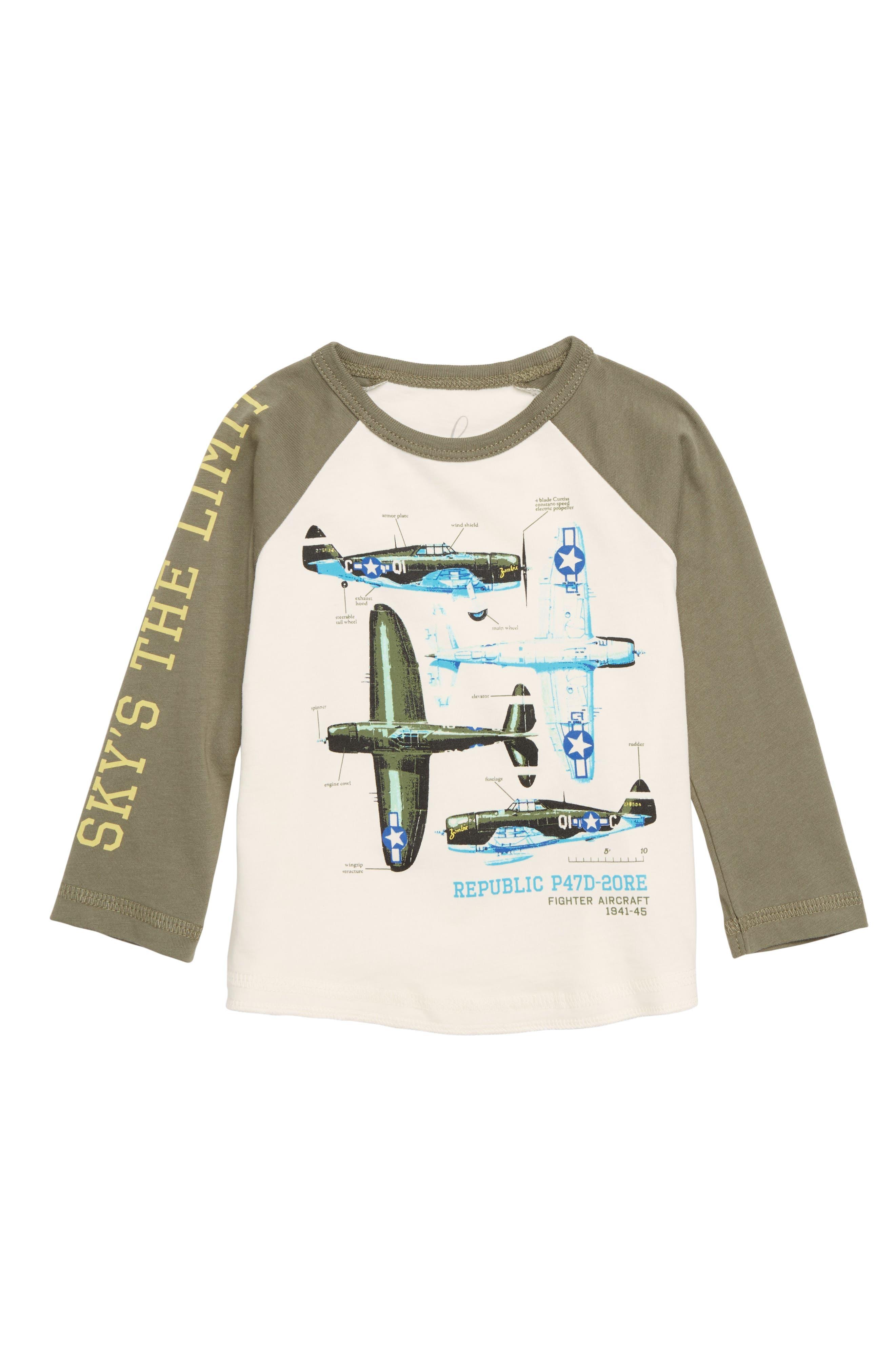 PEEK ESSENTIALS Peek Sky Is The Limit T-Shirt, Main, color, 100