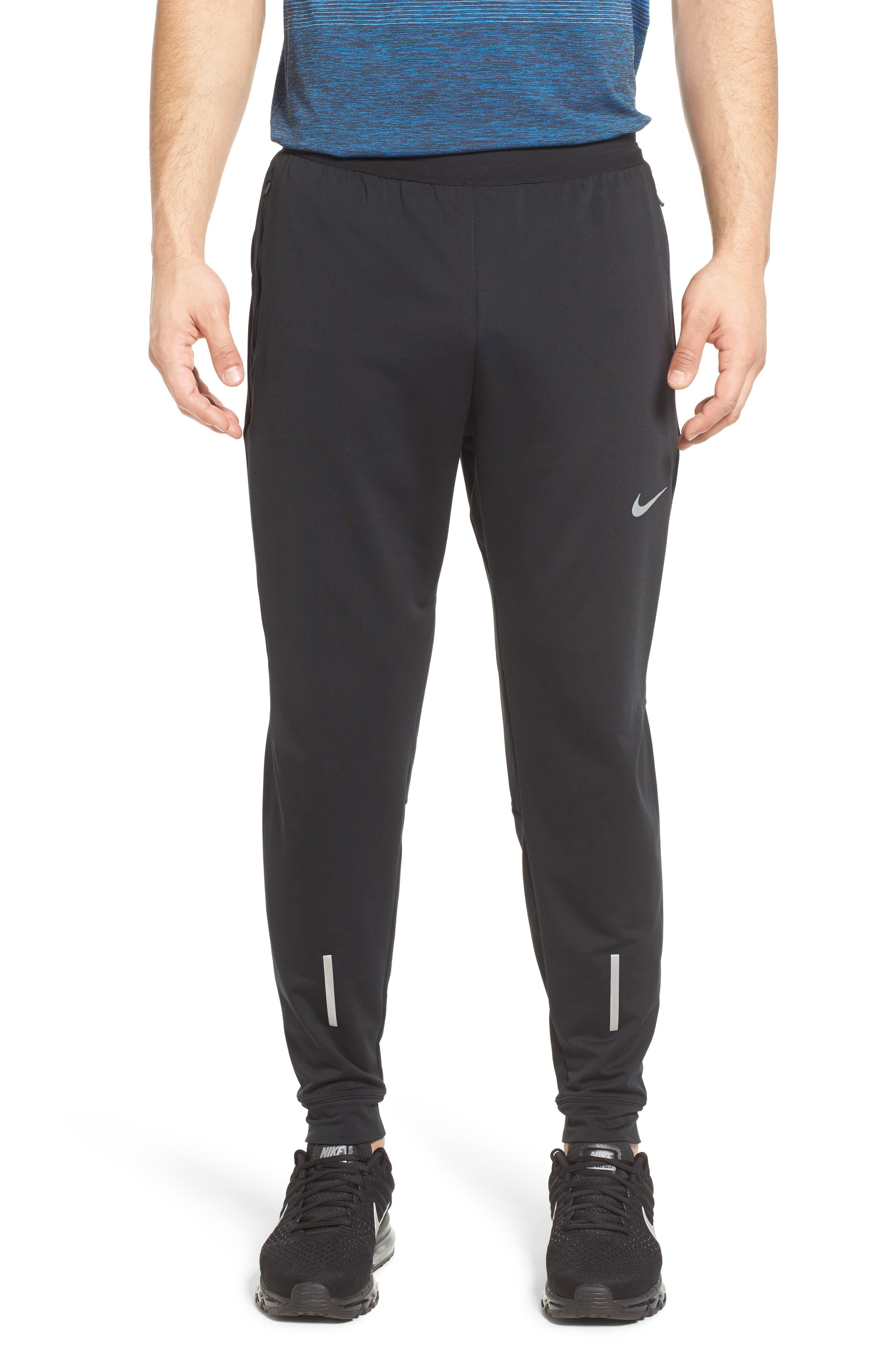 Dry Running Pants,                         Main,                         color, BLACK