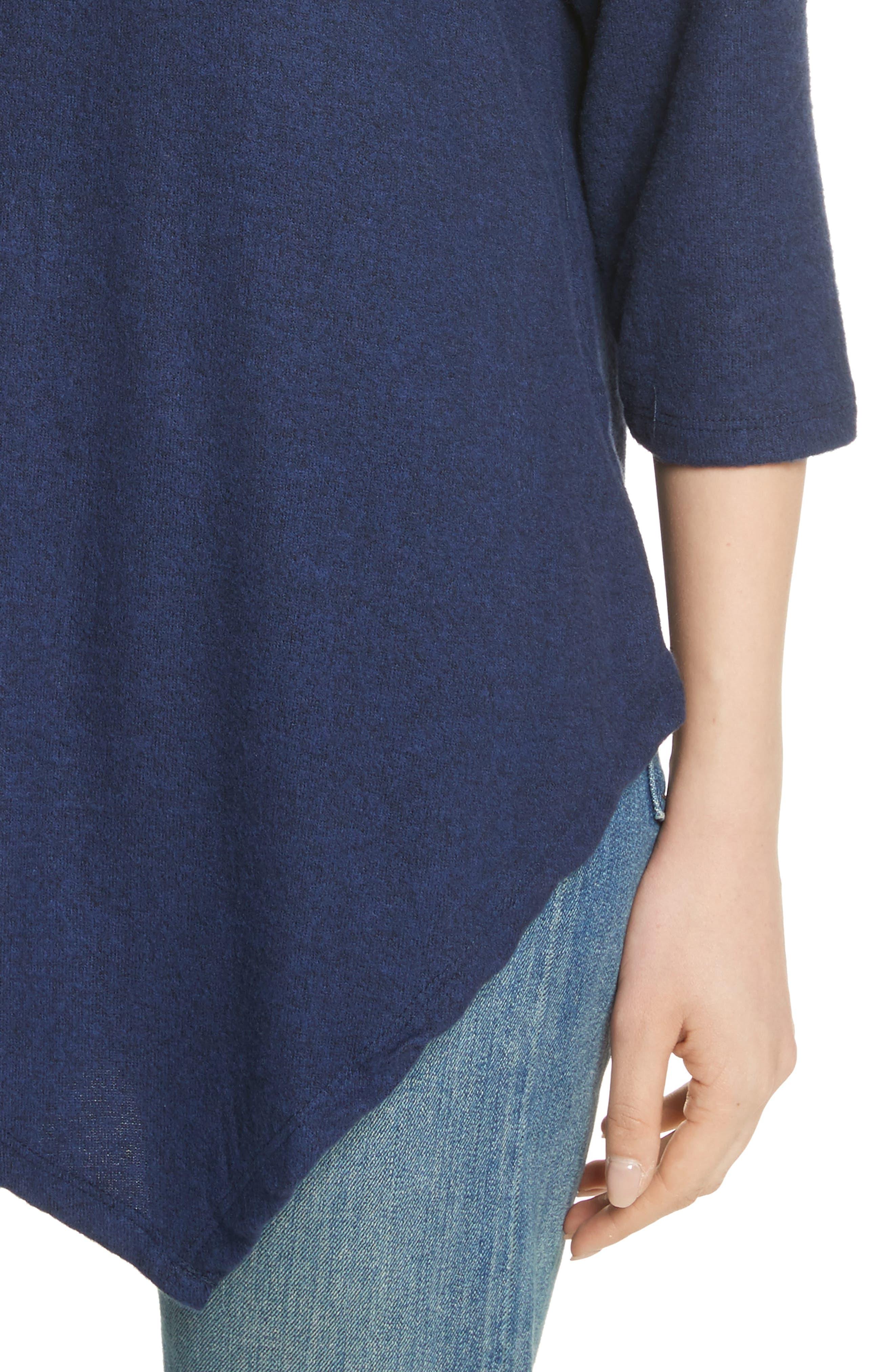 Soft Joie Tammy Asymmetrical Sweater,                             Alternate thumbnail 4, color,                             404