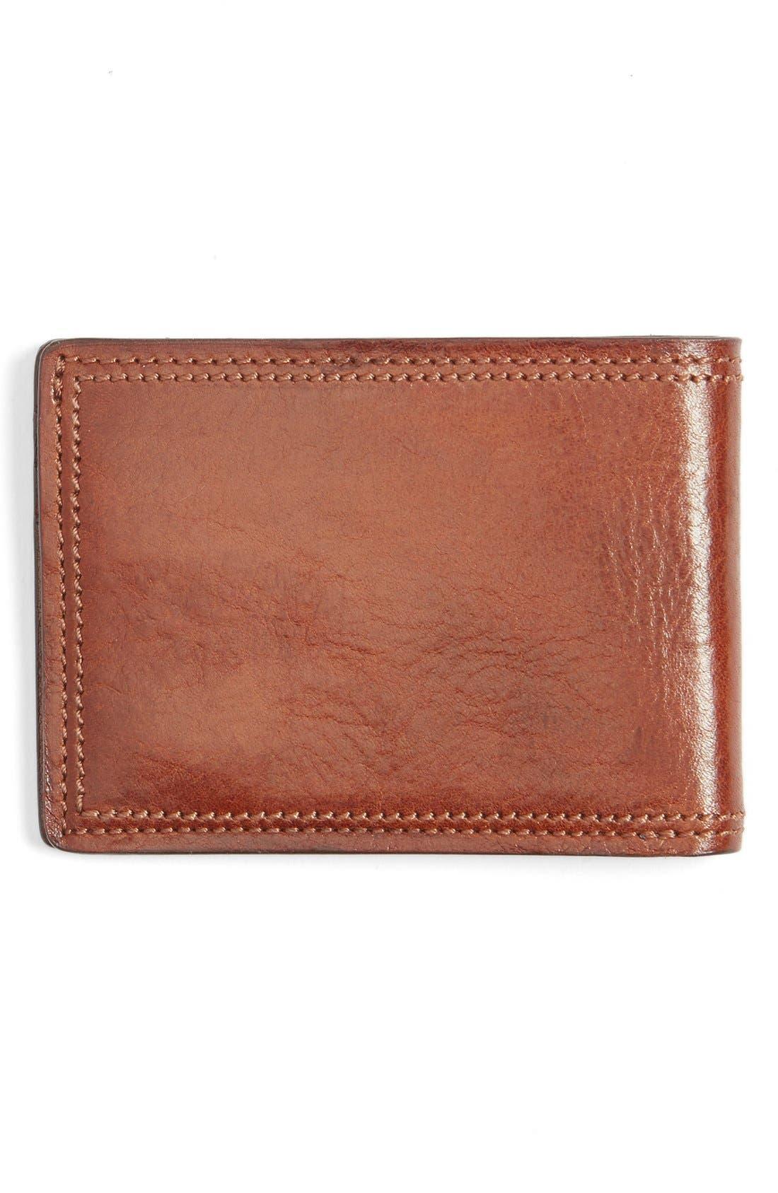BOSCA,                             Leather Bifold Wallet,                             Alternate thumbnail 3, color,                             233