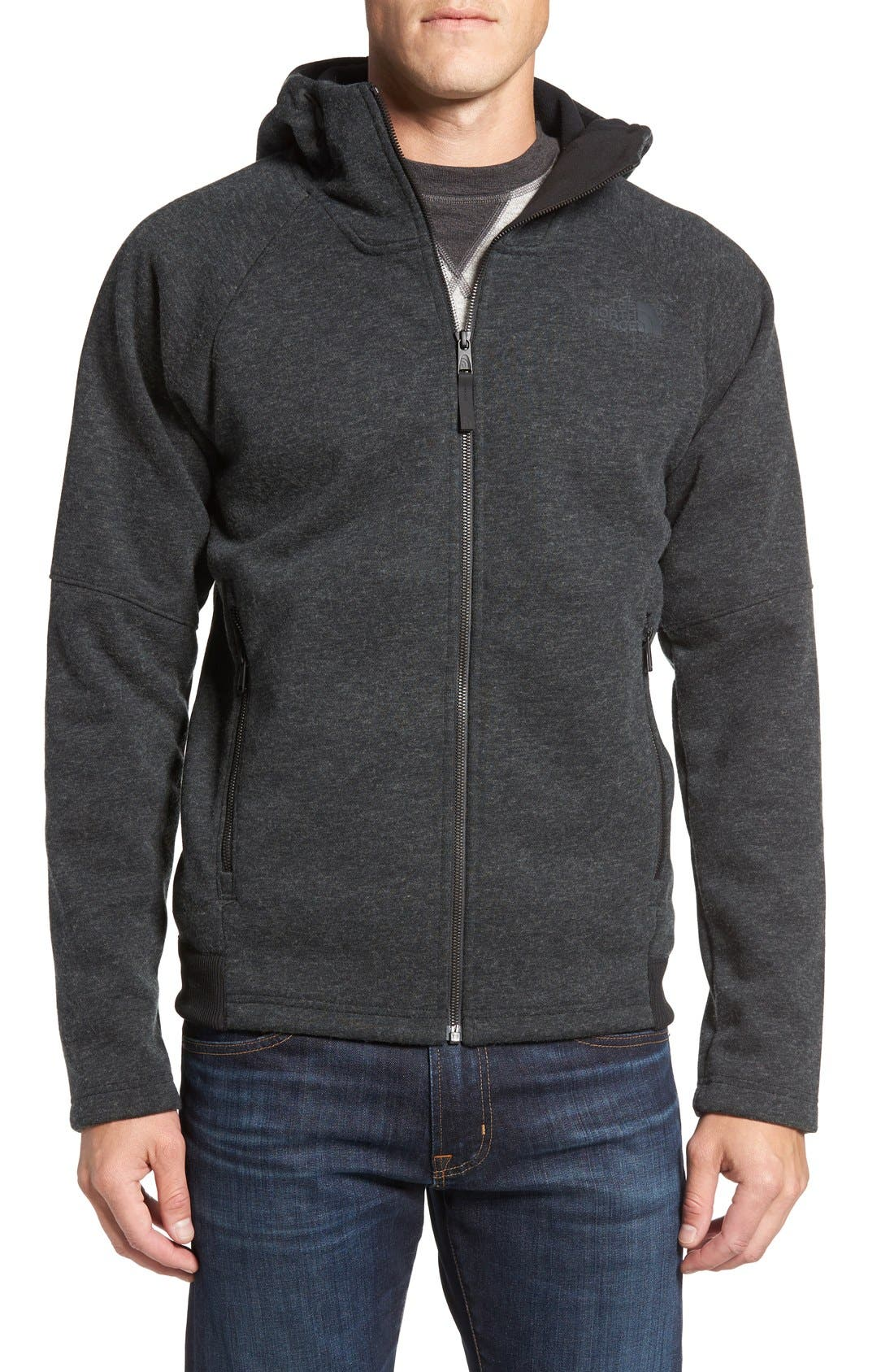 THE NORTH FACE,                             Far Northern Hoodie,                             Main thumbnail 1, color,                             001