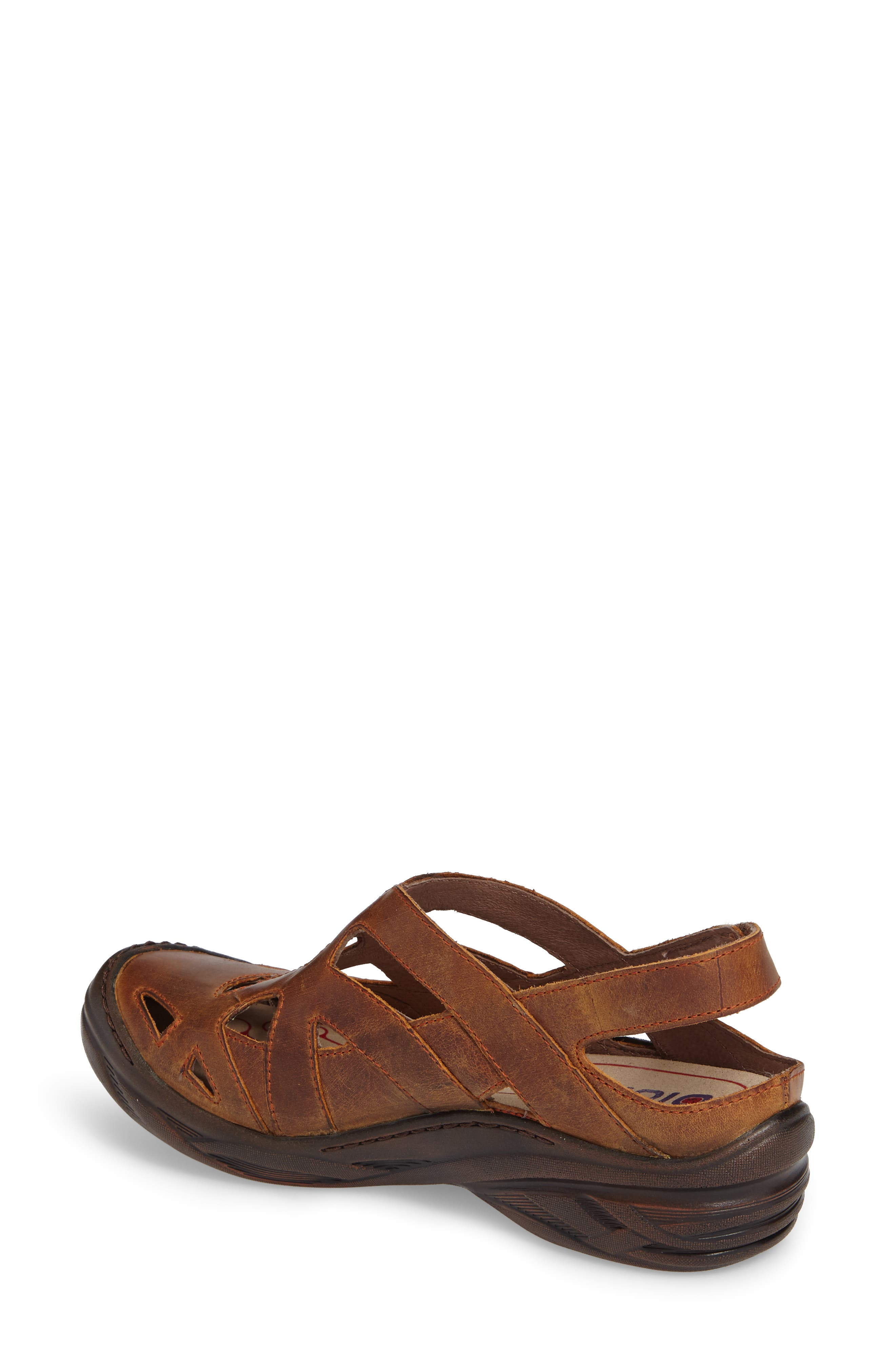 BIONICA,                             Maclean Sandal,                             Alternate thumbnail 2, color,                             ALMOND TAN LEATHER