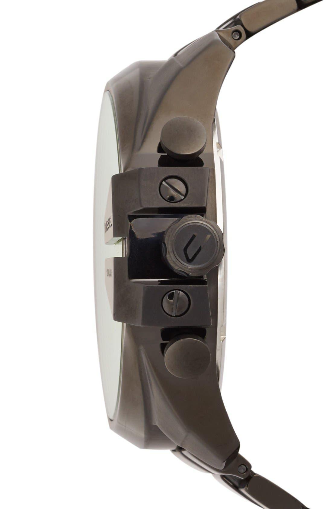 'Mega Chief' Chronograph Bracelet Watch, 51mm,                             Alternate thumbnail 3, color,
