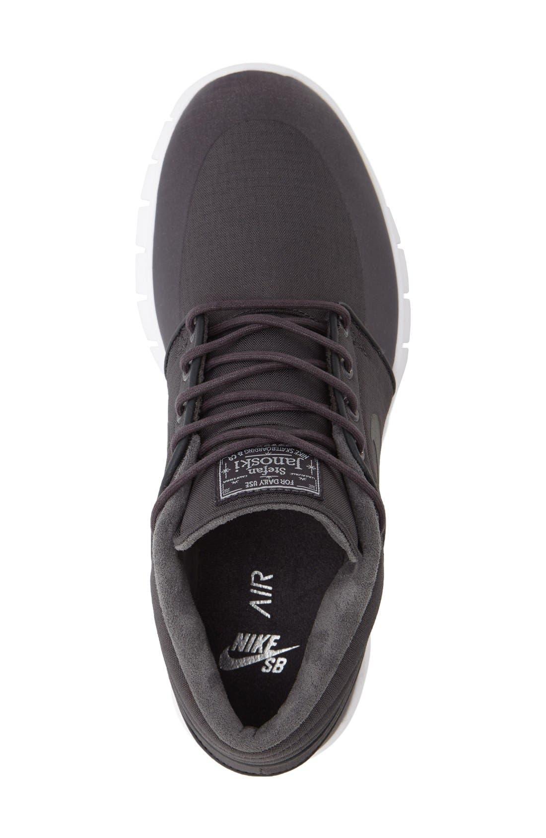 SB Stefan Janoski Max Mid Skate Shoe,                             Alternate thumbnail 30, color,