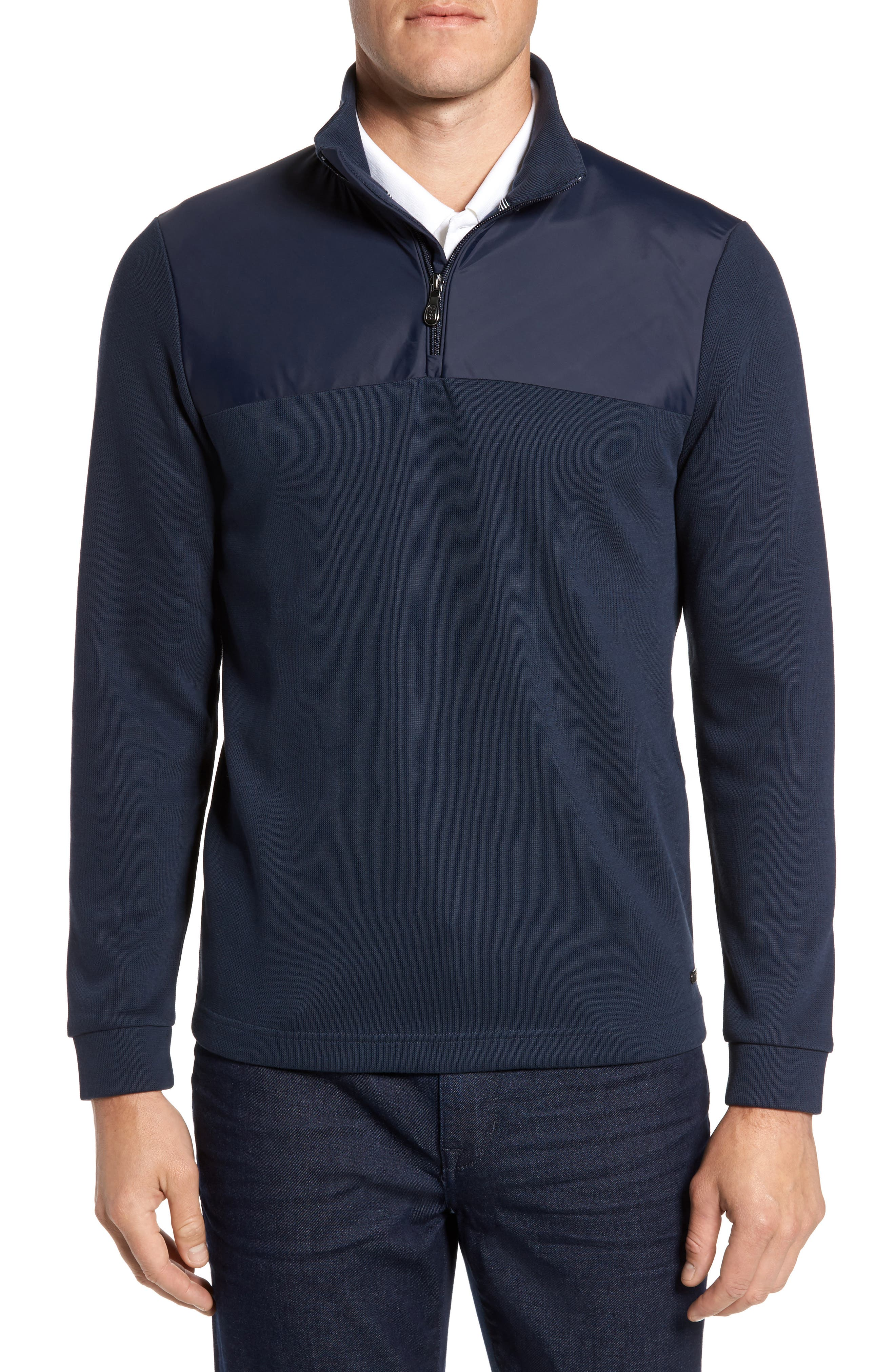 C-Piceno Quarter Zip Fleece Pullover,                             Main thumbnail 3, color,