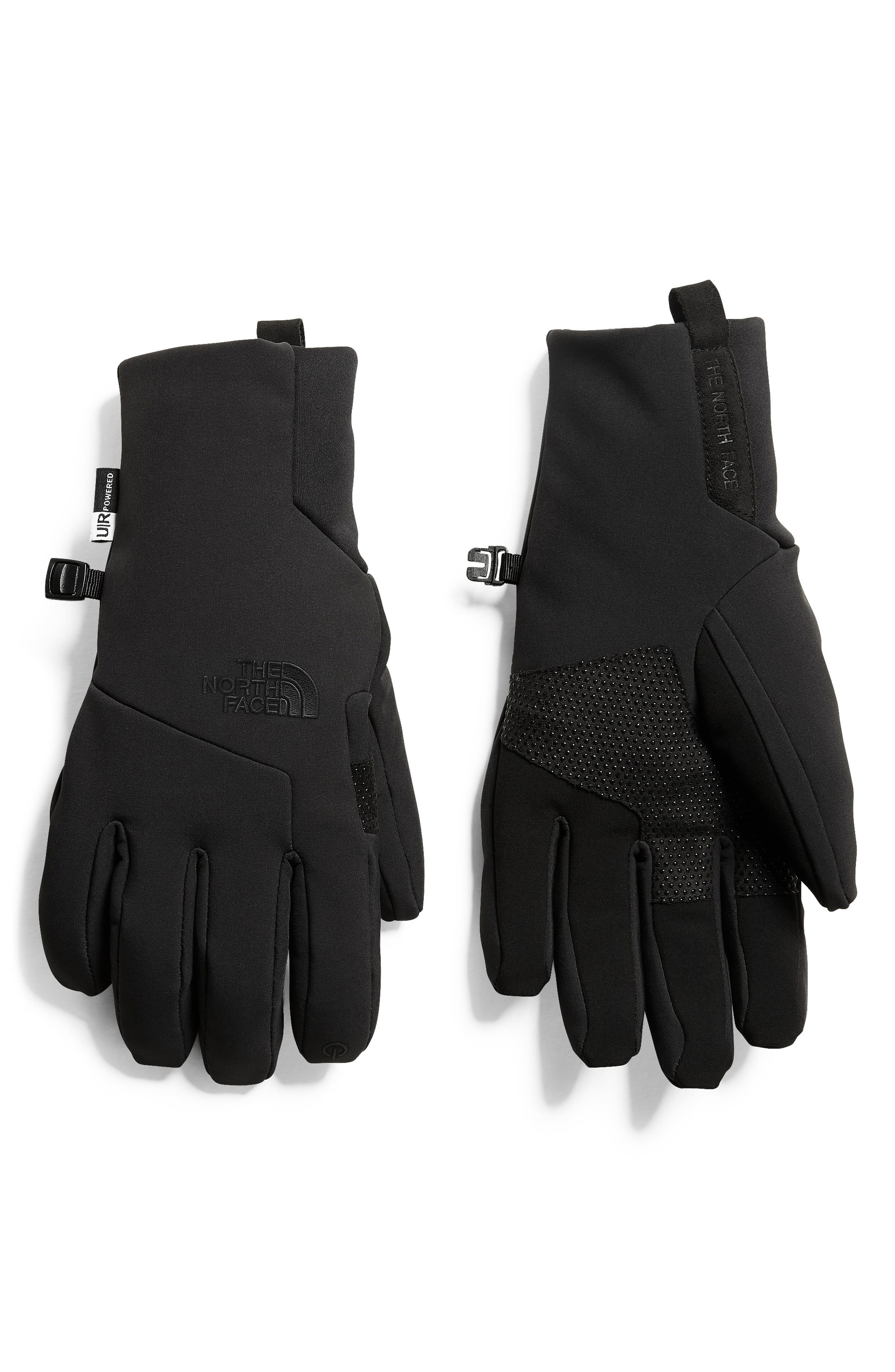 THE NORTH FACE,                             Etip Apex Gloves,                             Main thumbnail 1, color,                             001
