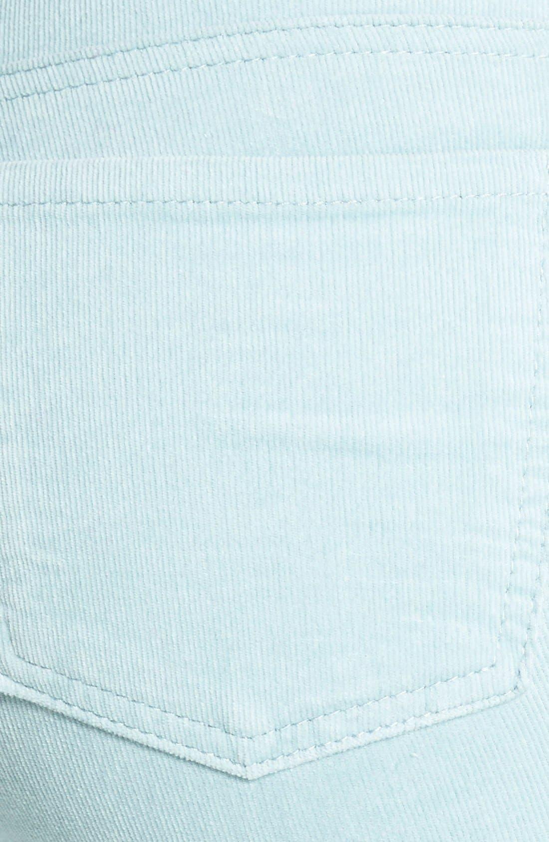 'Diana' Stretch Corduroy Skinny Pants,                             Alternate thumbnail 84, color,
