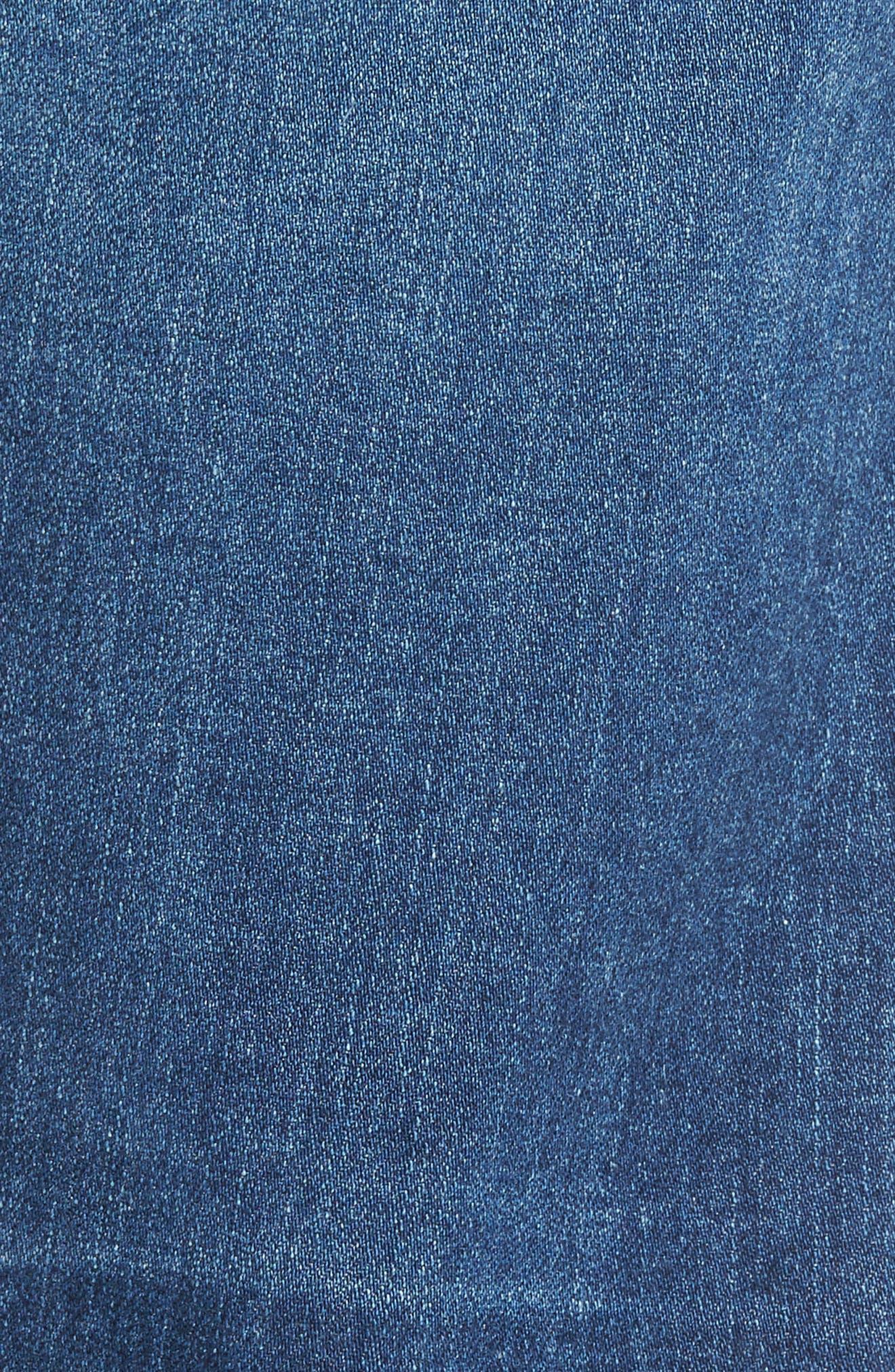 Graduate Slim Straight Leg Jeans,                             Alternate thumbnail 5, color,                             450