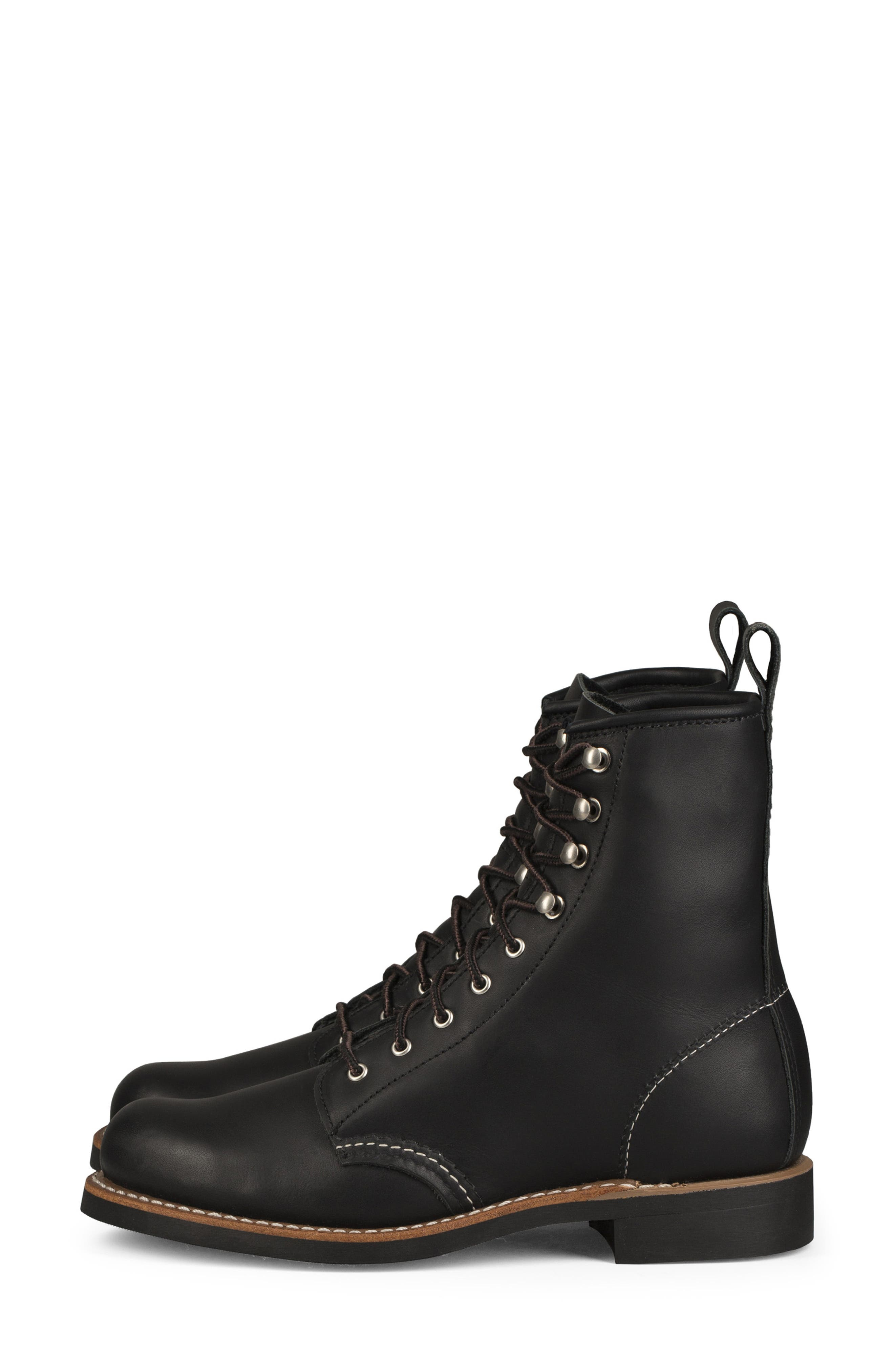 Silversmith Boot,                             Alternate thumbnail 2, color,                             BLACK BOUNDARY LEATHER