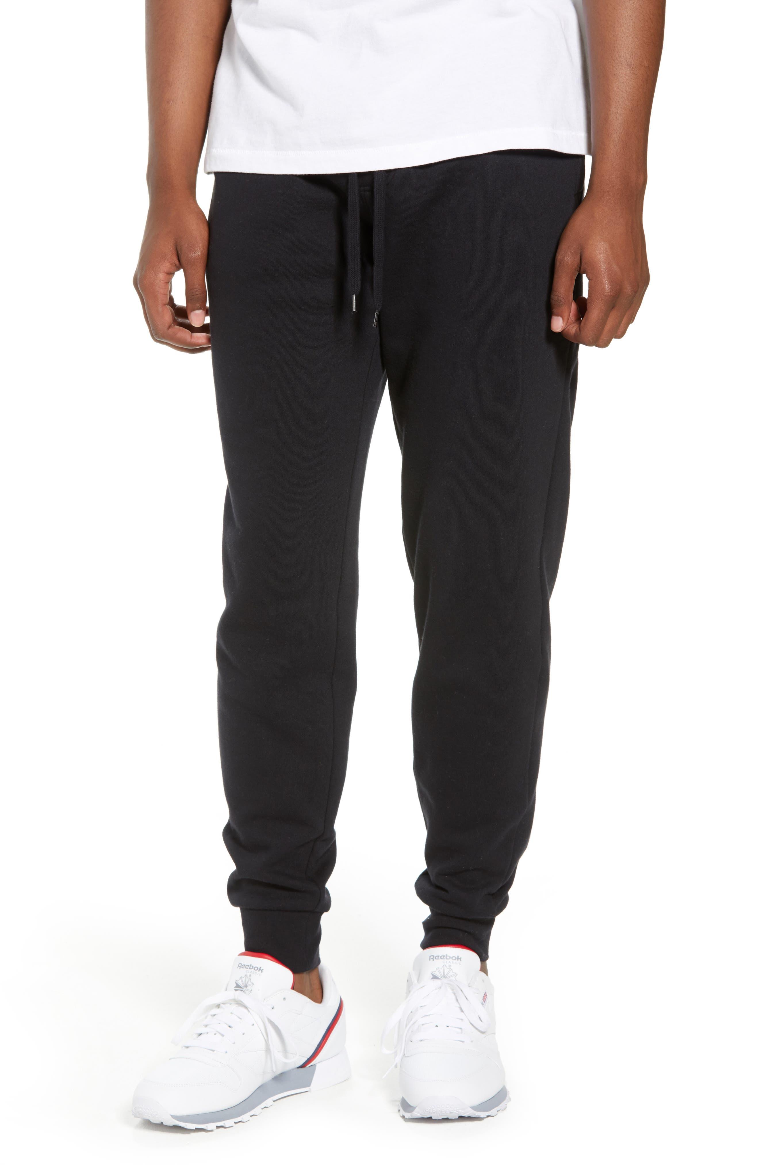 Fleece Jogger Pants,                         Main,                         color, 001