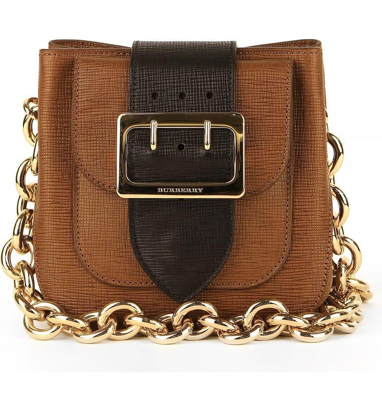 90c9b9180a27 Burberry  Small Belt Bag  Leather   House Check Shoulder Bag