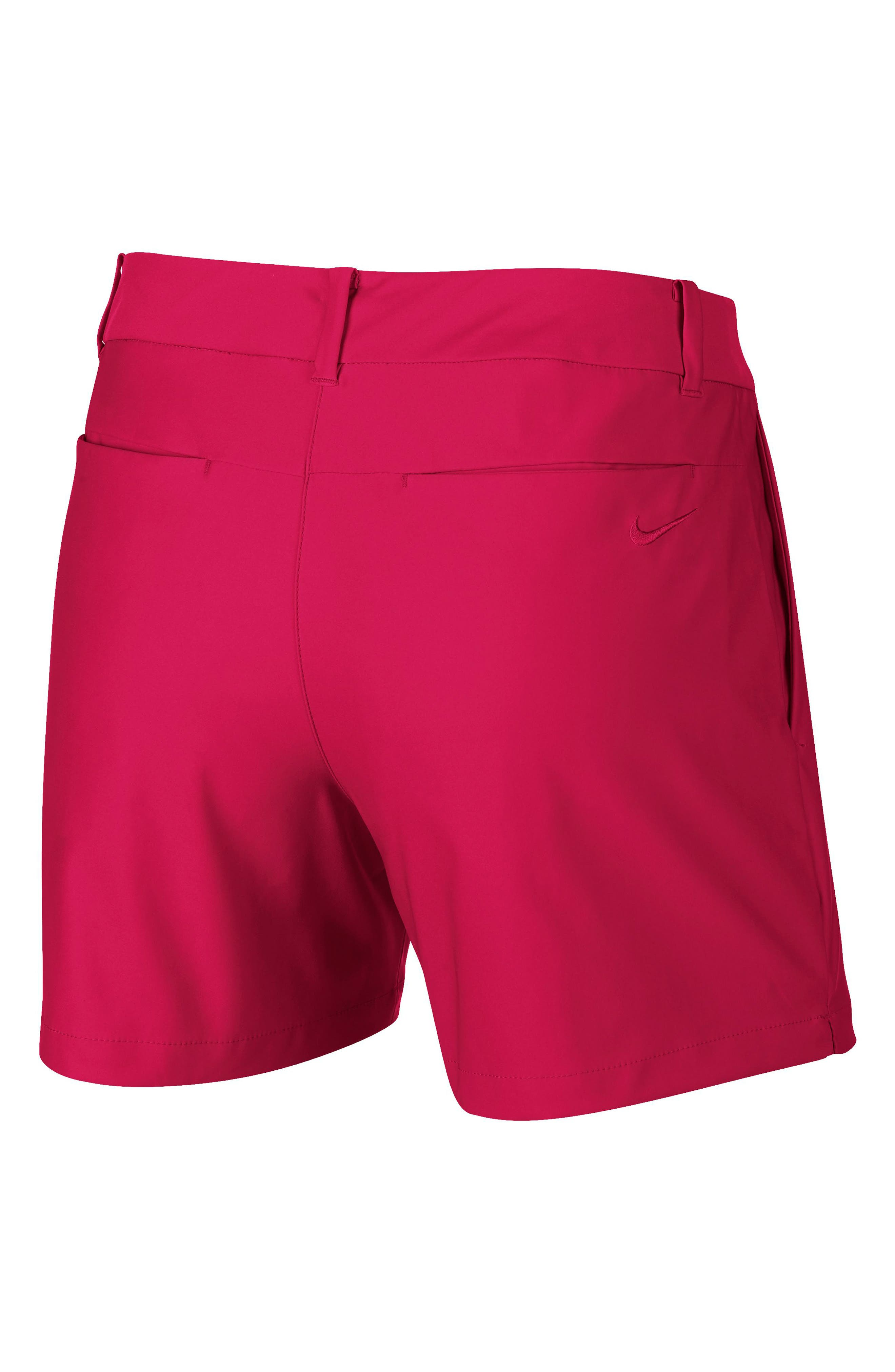 Flex Golf Shorts,                             Alternate thumbnail 2, color,                             RUSH PINK/ RUSH PINK