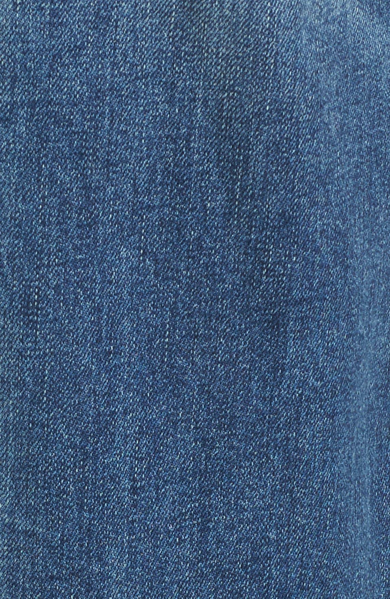 Shelter Wide Leg Crop Jeans,                             Alternate thumbnail 5, color,