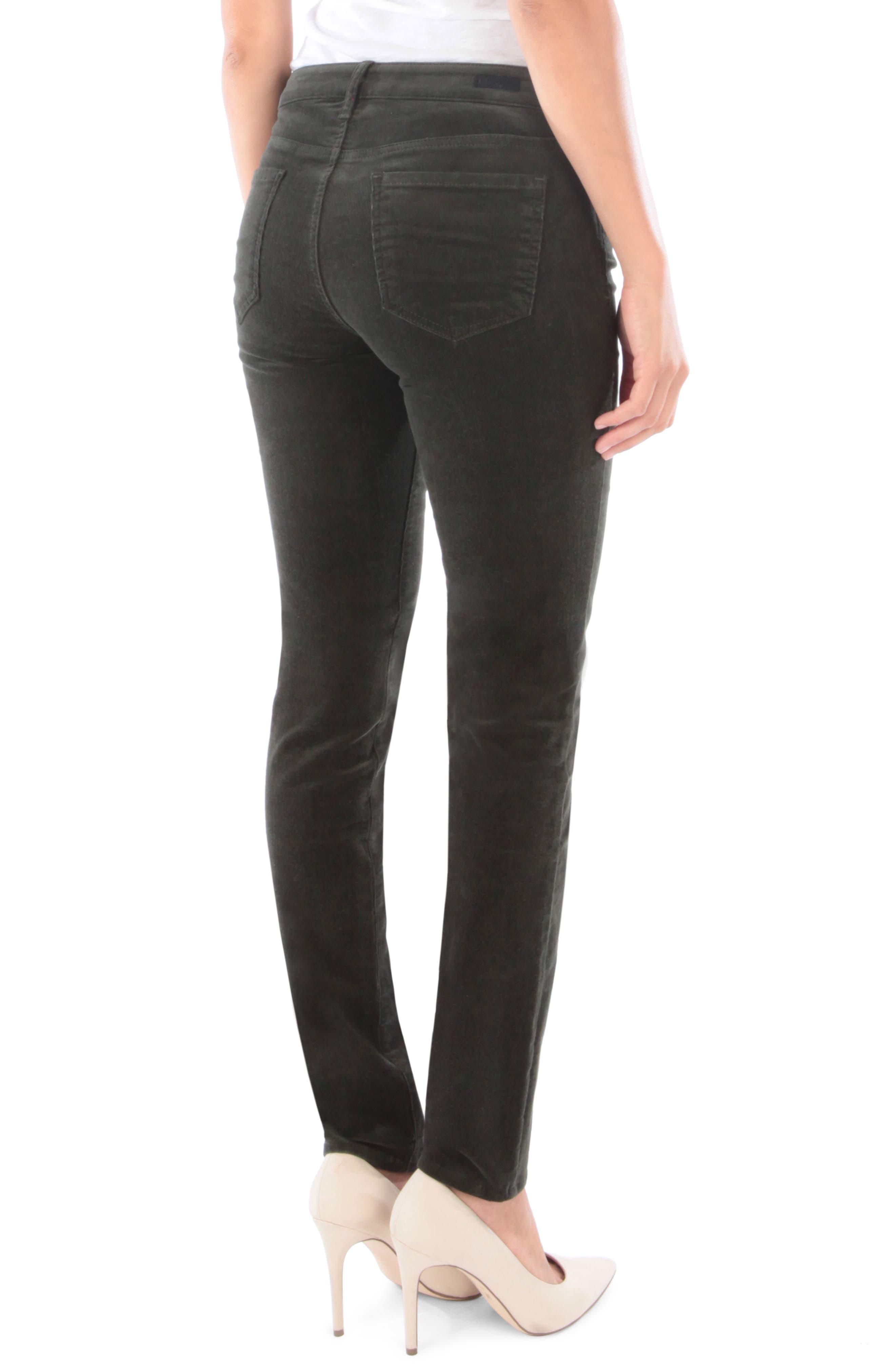 'Diana' Stretch Corduroy Skinny Pants,                             Alternate thumbnail 62, color,