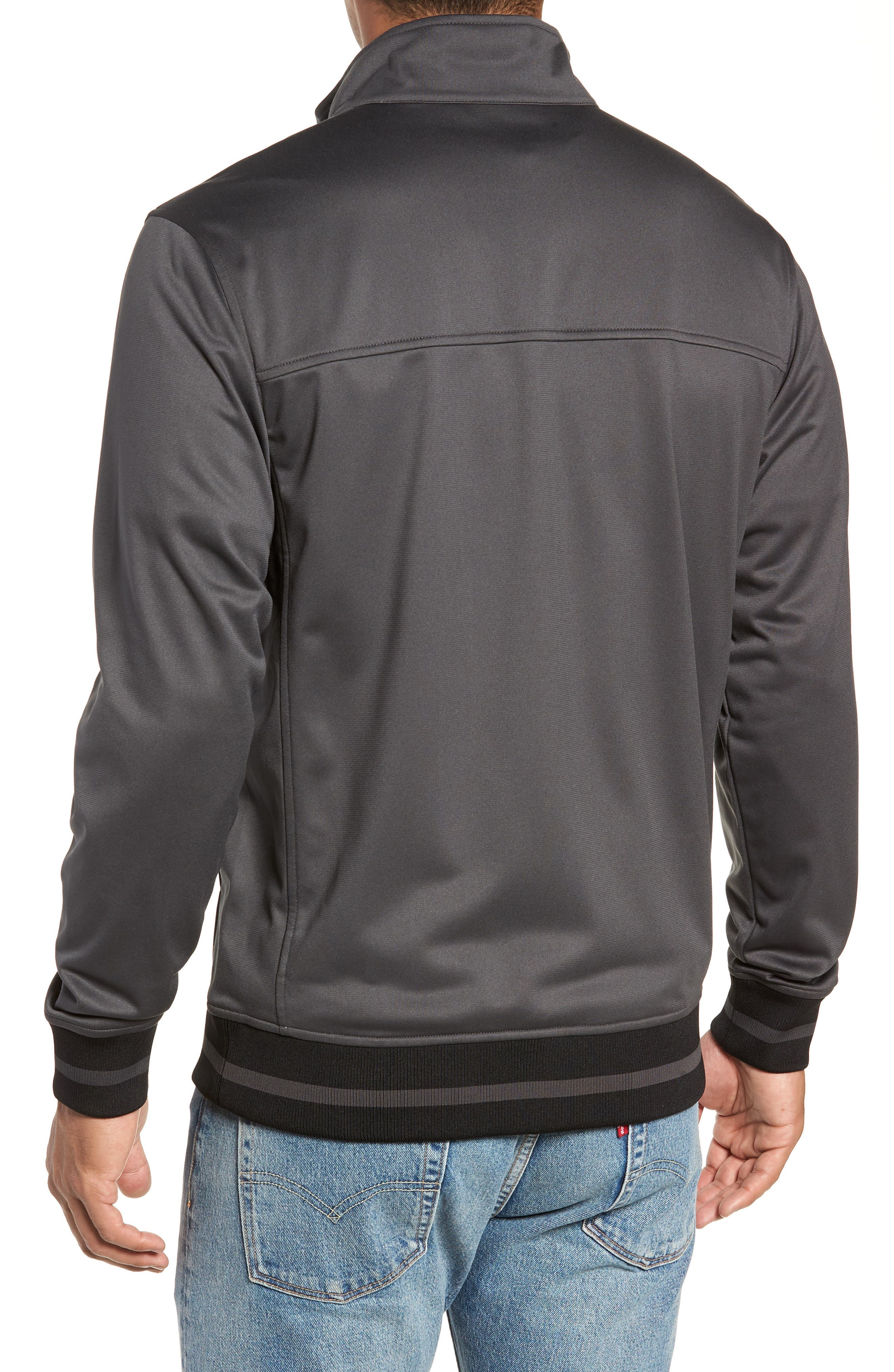 Alphabet City Track Jacket,                             Alternate thumbnail 2, color,                             ASPHALT GREY