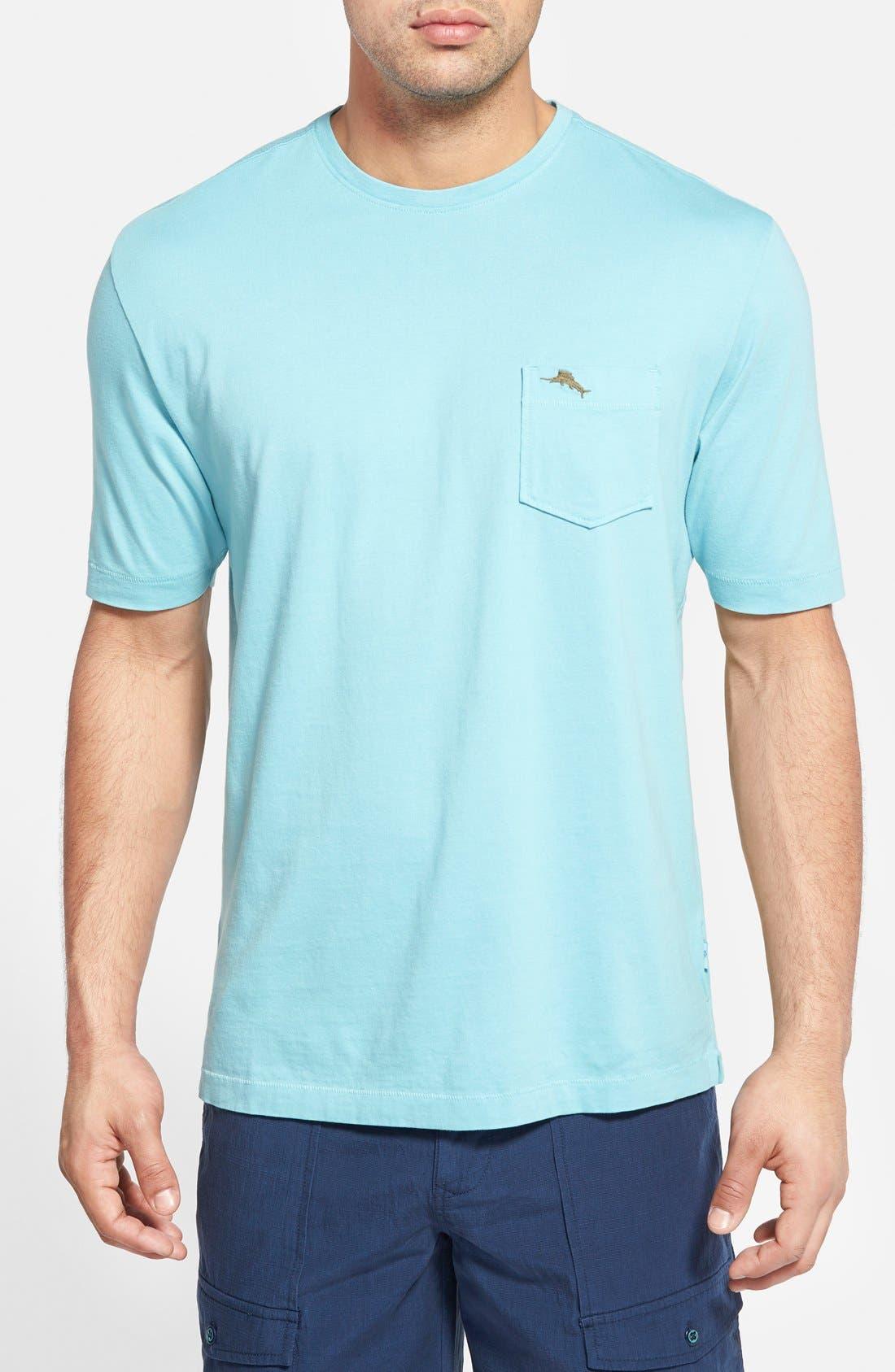 New Bali Sky Pima Cotton Pocket T-Shirt,                             Main thumbnail 22, color,