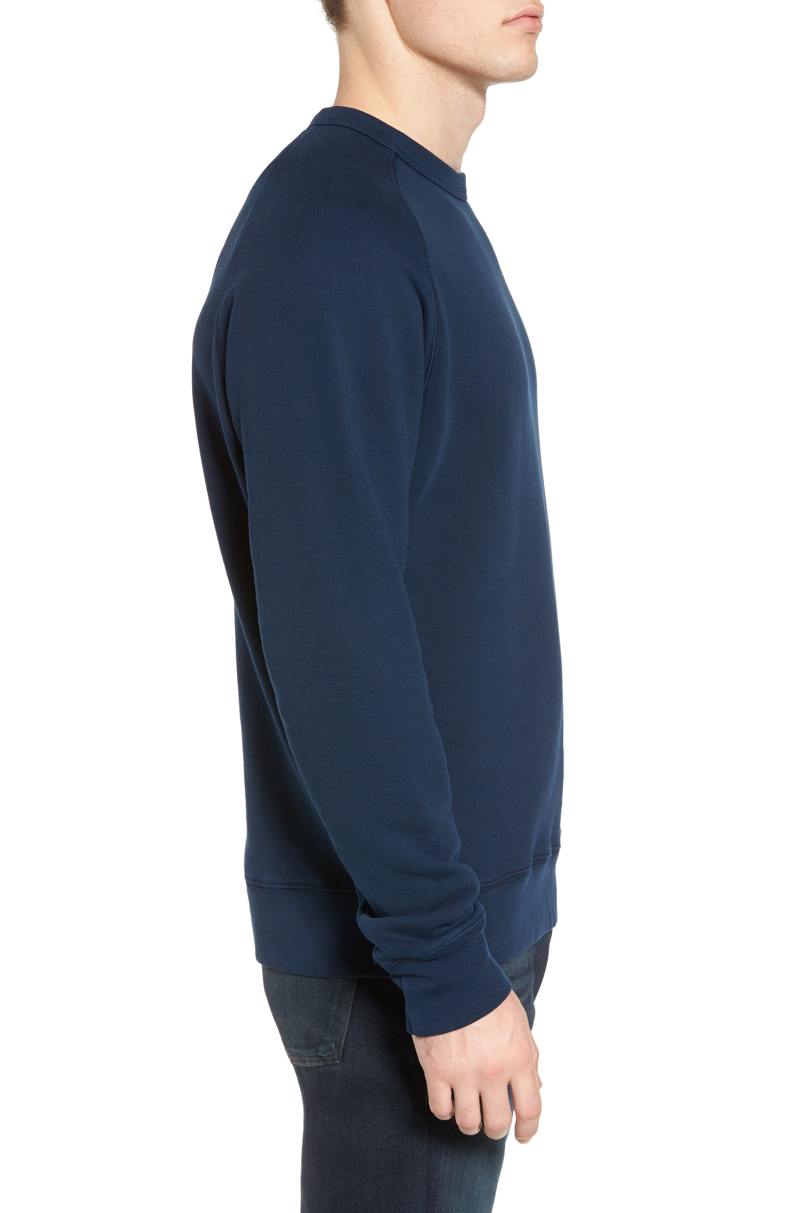 South Sea Raglan Sweatshirt,                             Alternate thumbnail 8, color,
