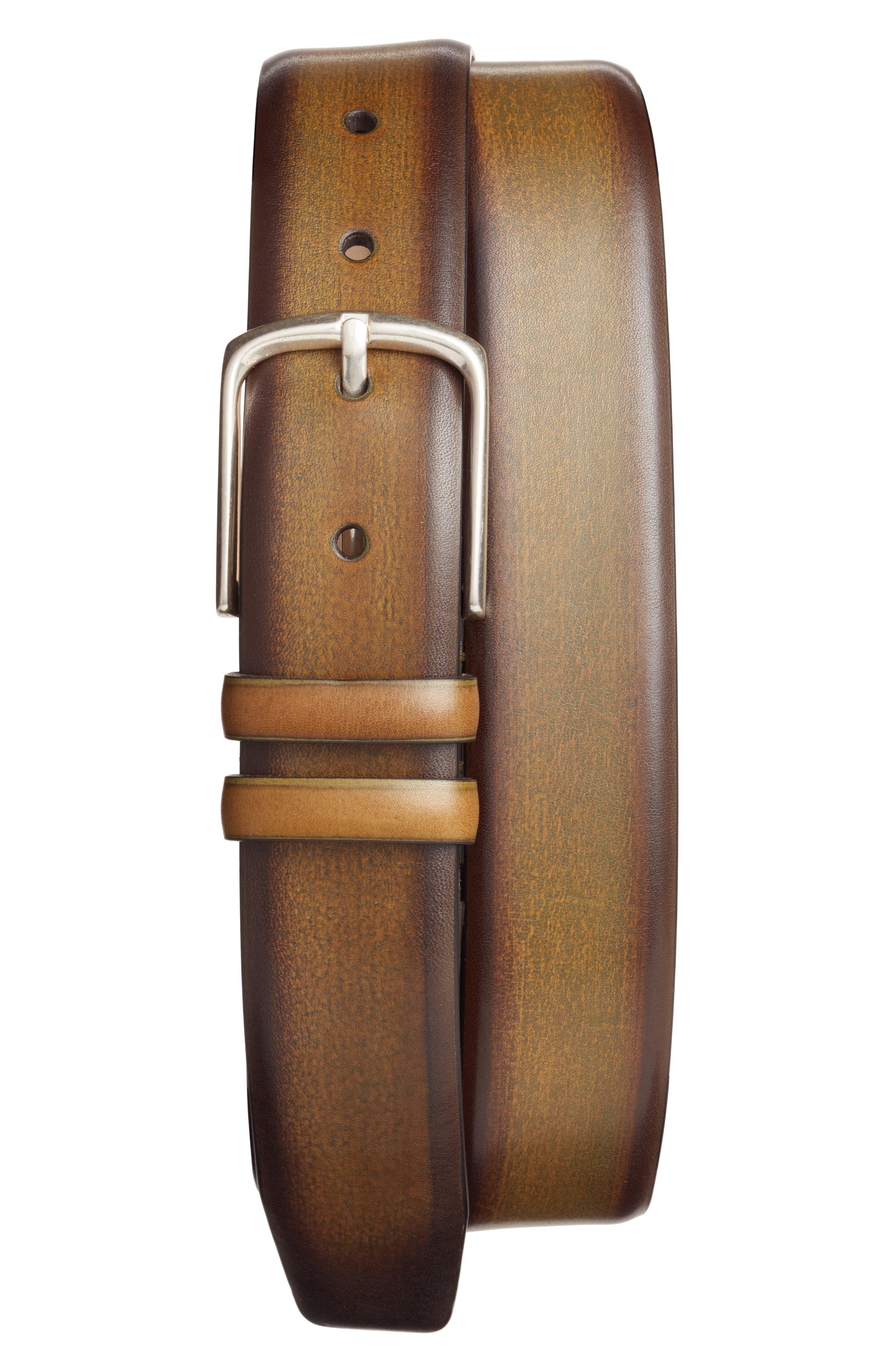 Palma Leather Belt,                             Main thumbnail 2, color,