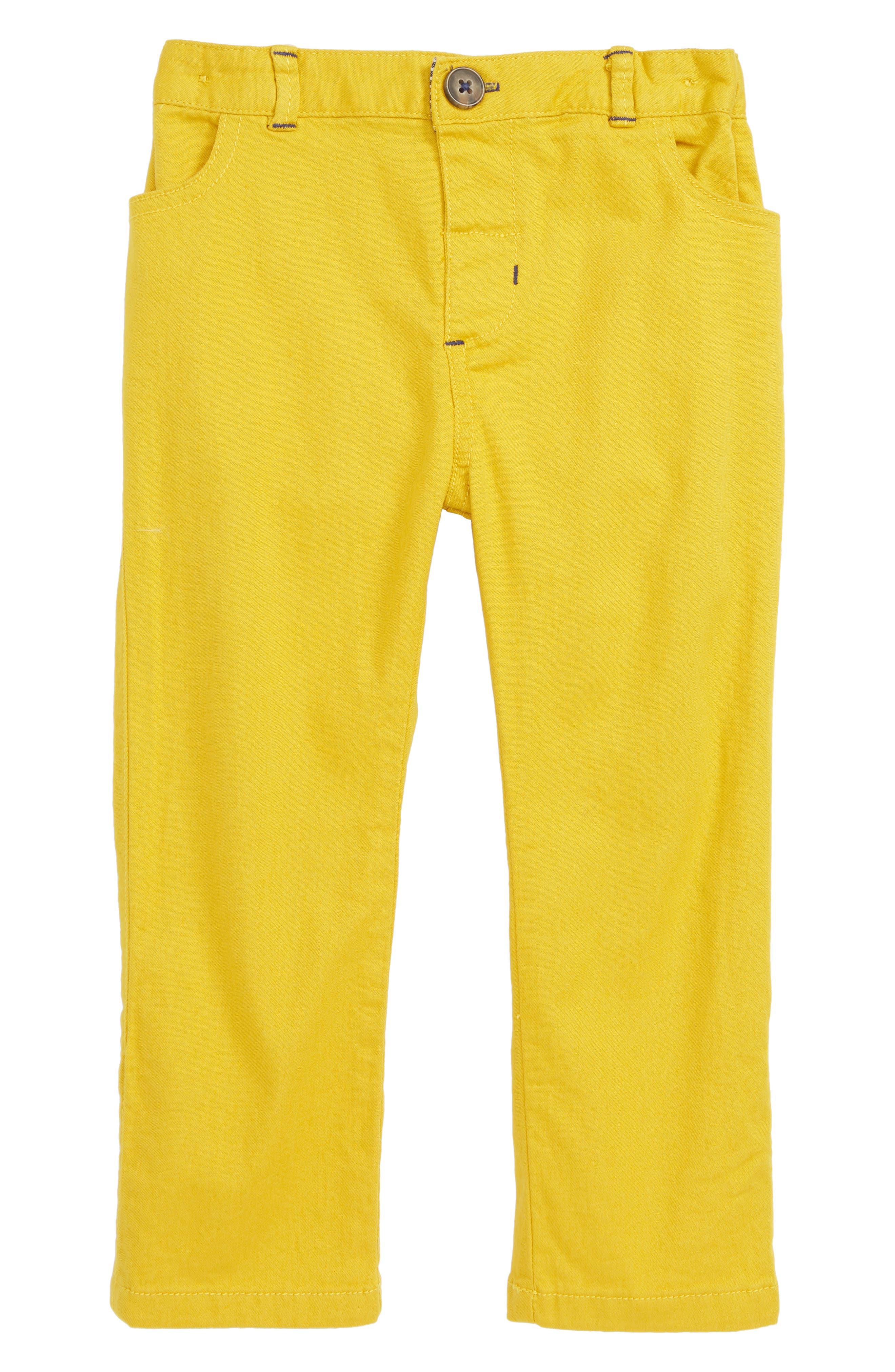 Colorful Chino Pants,                             Main thumbnail 1, color,                             YEL HONEYCOMB YELLOW