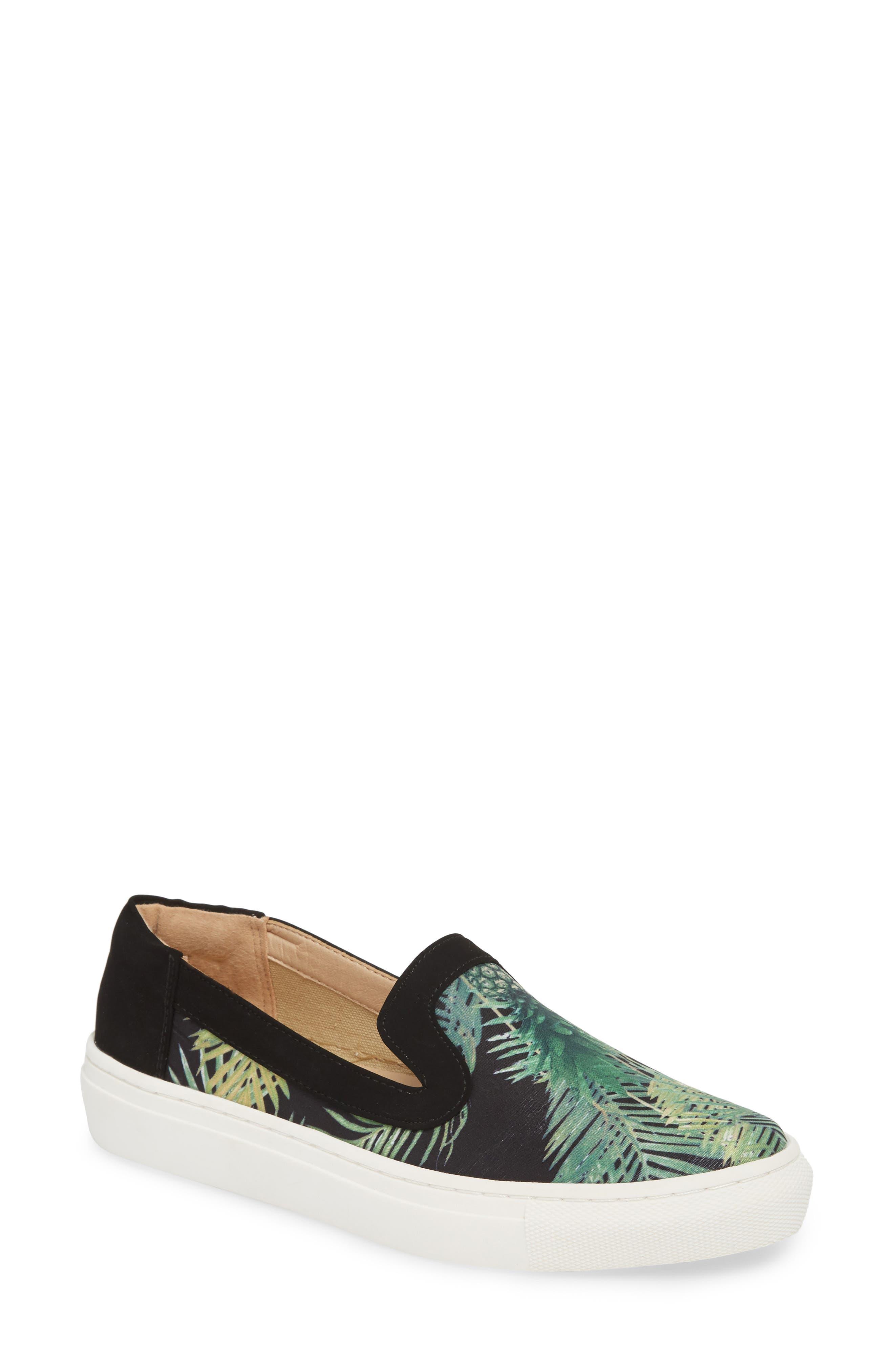 Lineth Sneaker,                             Main thumbnail 1, color,                             BLACK / MULTI