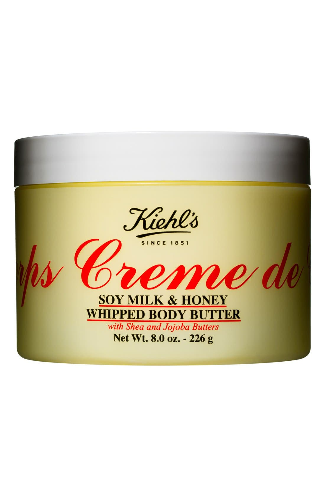 'Creme de Corps' Soy Milk & Honey Whipped Body Butter,                             Alternate thumbnail 4, color,                             NO COLOR