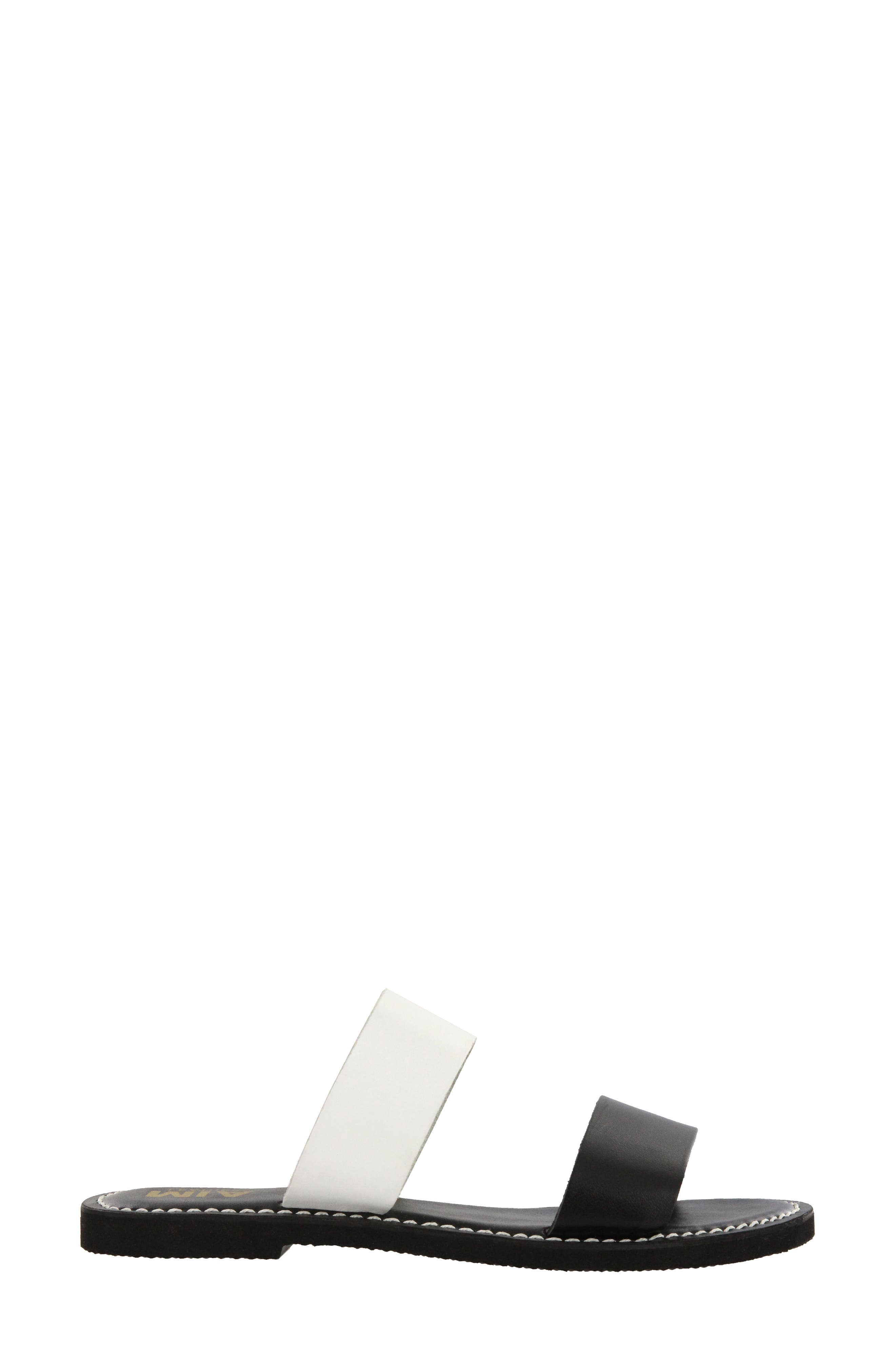 Nila Two-Band Slide Sandal,                             Alternate thumbnail 3, color,                             004
