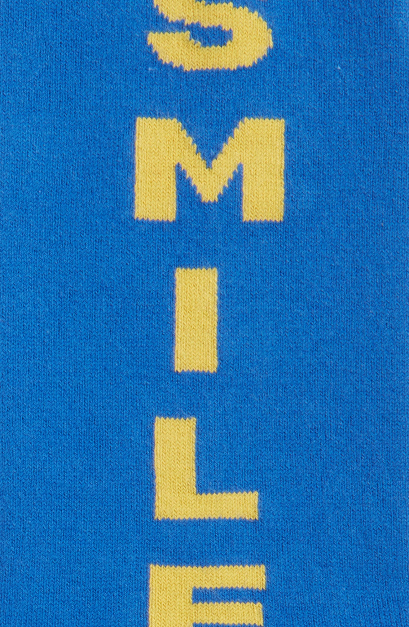 Scribble Crew Socks,                             Alternate thumbnail 6, color,
