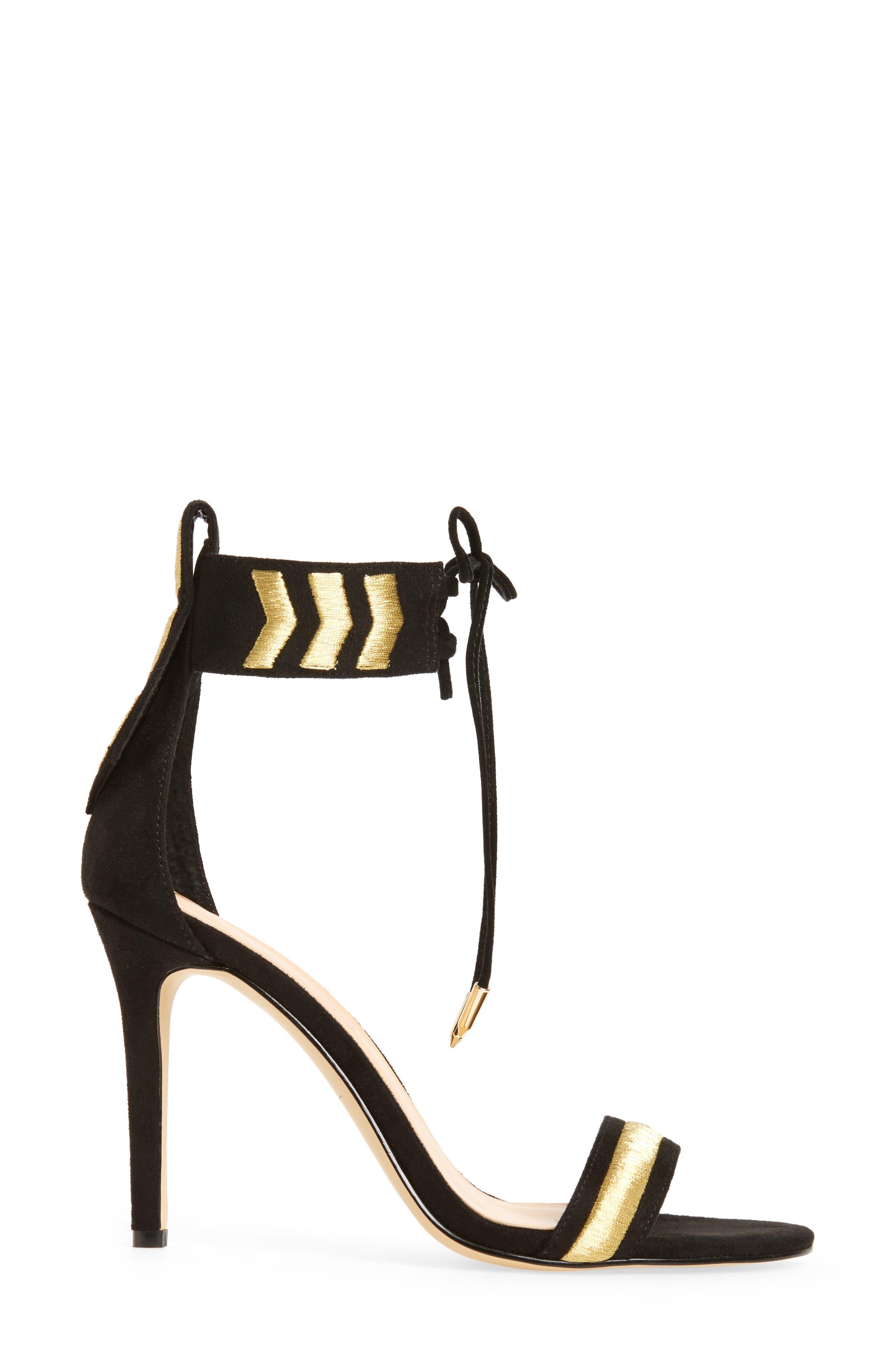 by Zendaya Nola Ankle Cuff Sandal,                             Alternate thumbnail 3, color,                             005