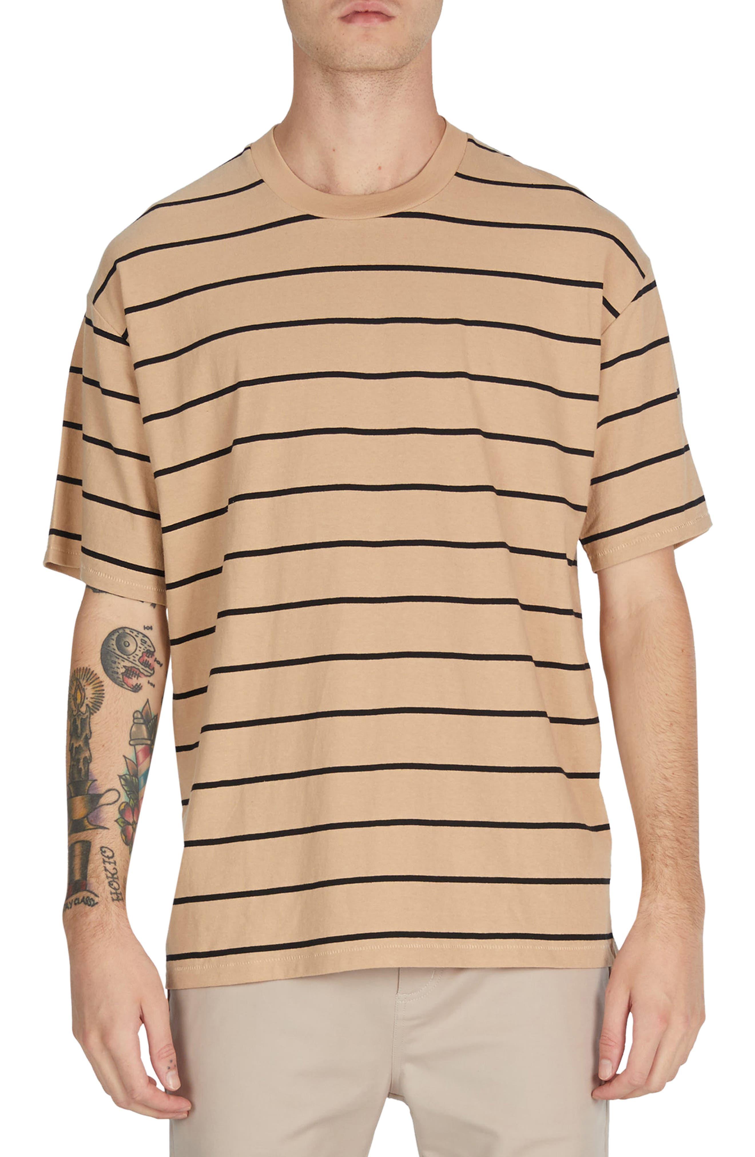 Stripe Box T-Shirt,                         Main,                         color, 273