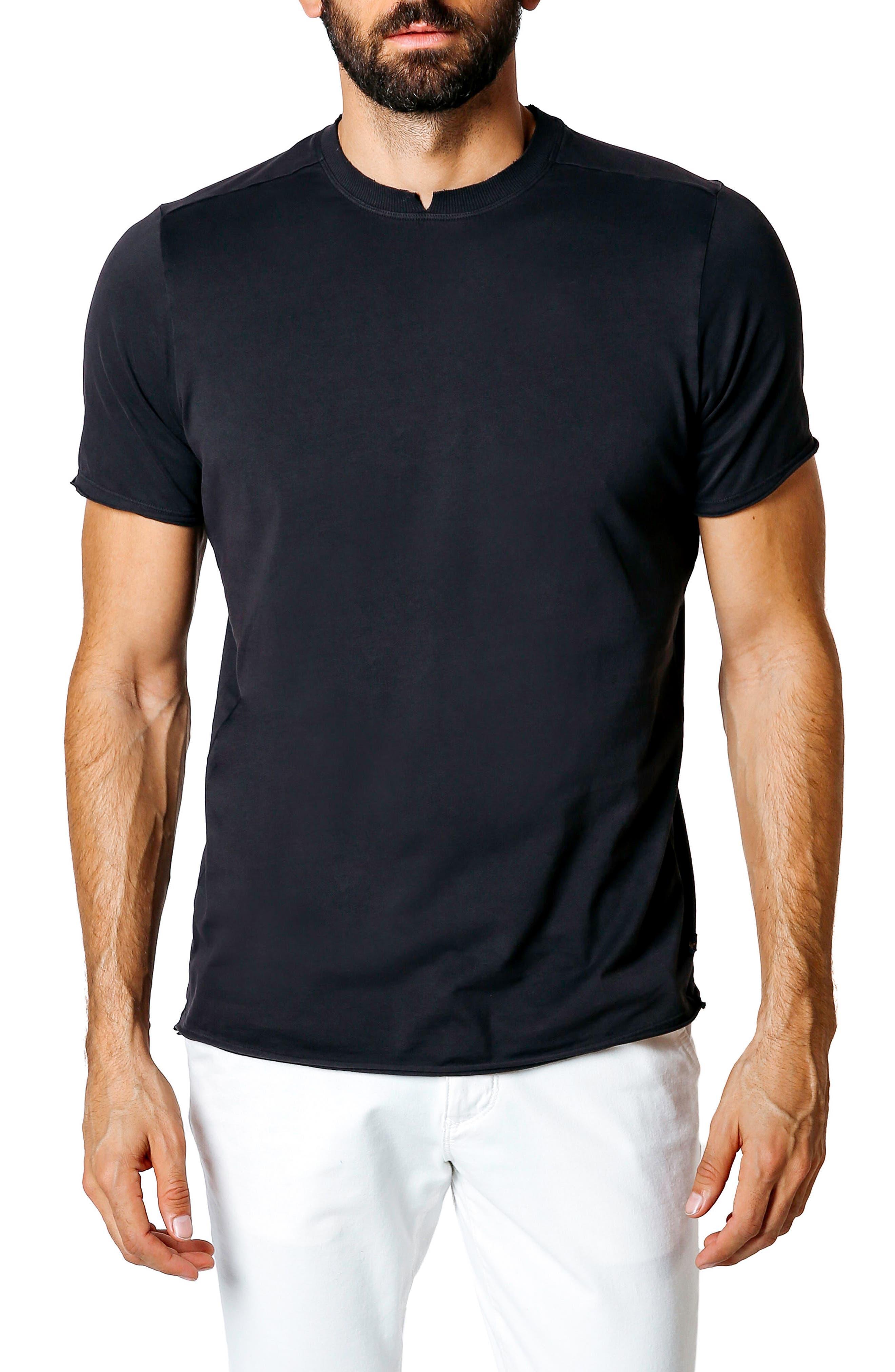 Trim Fit Slub T-Shirt,                         Main,                         color, 001