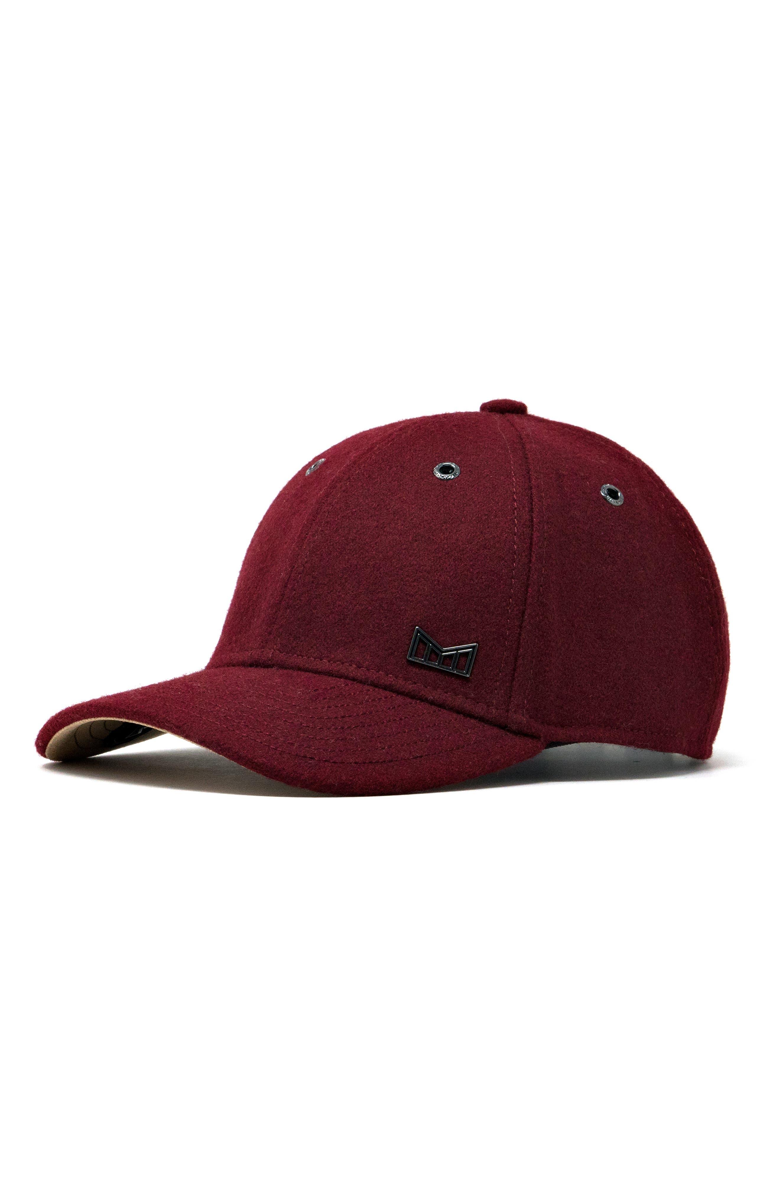 MELIN 'Glory Days' Strapback Baseball Cap - Red in Dark Red