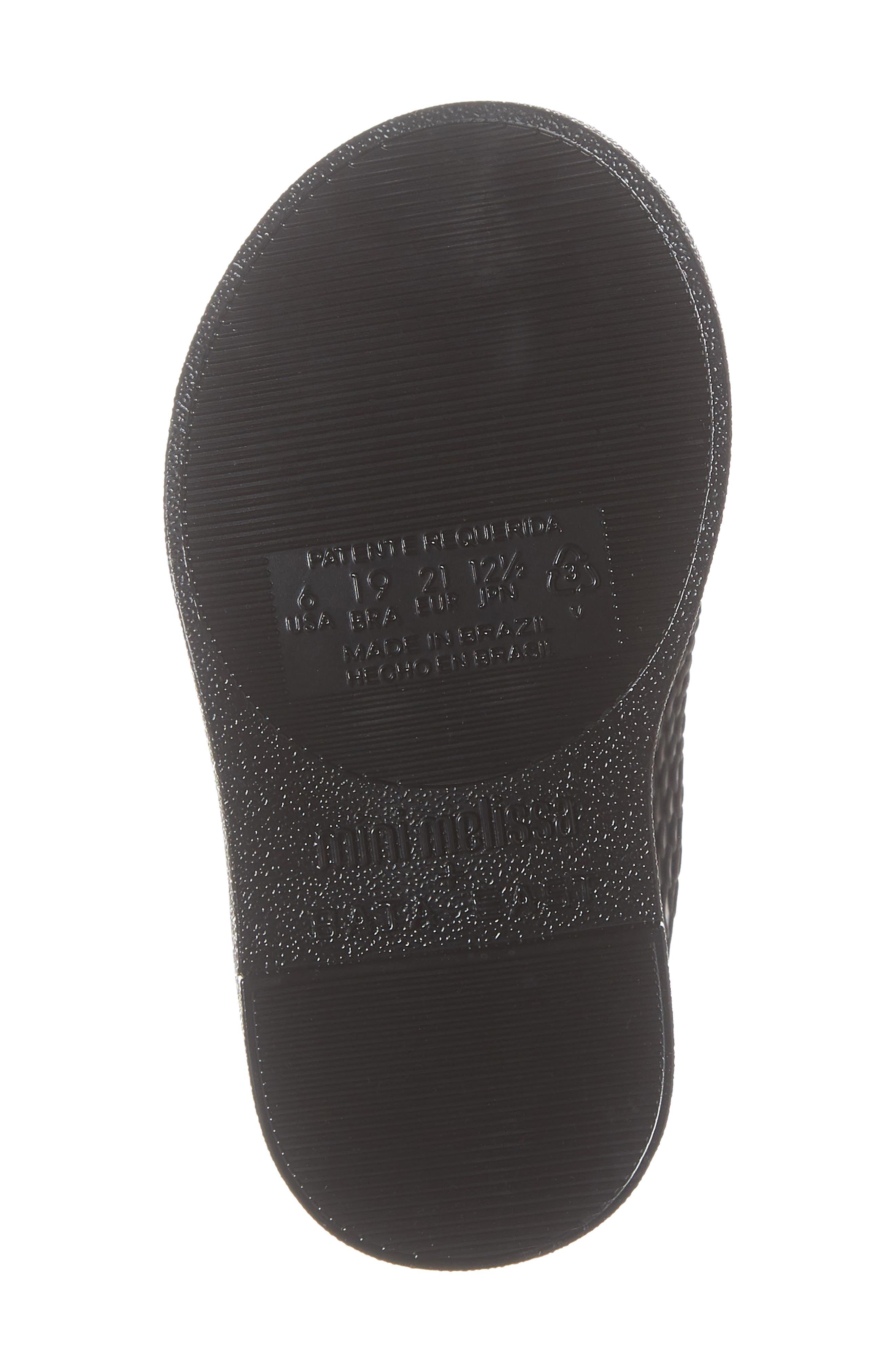 Python Textured Water Resistant Bootie,                             Alternate thumbnail 6, color,                             BLACK