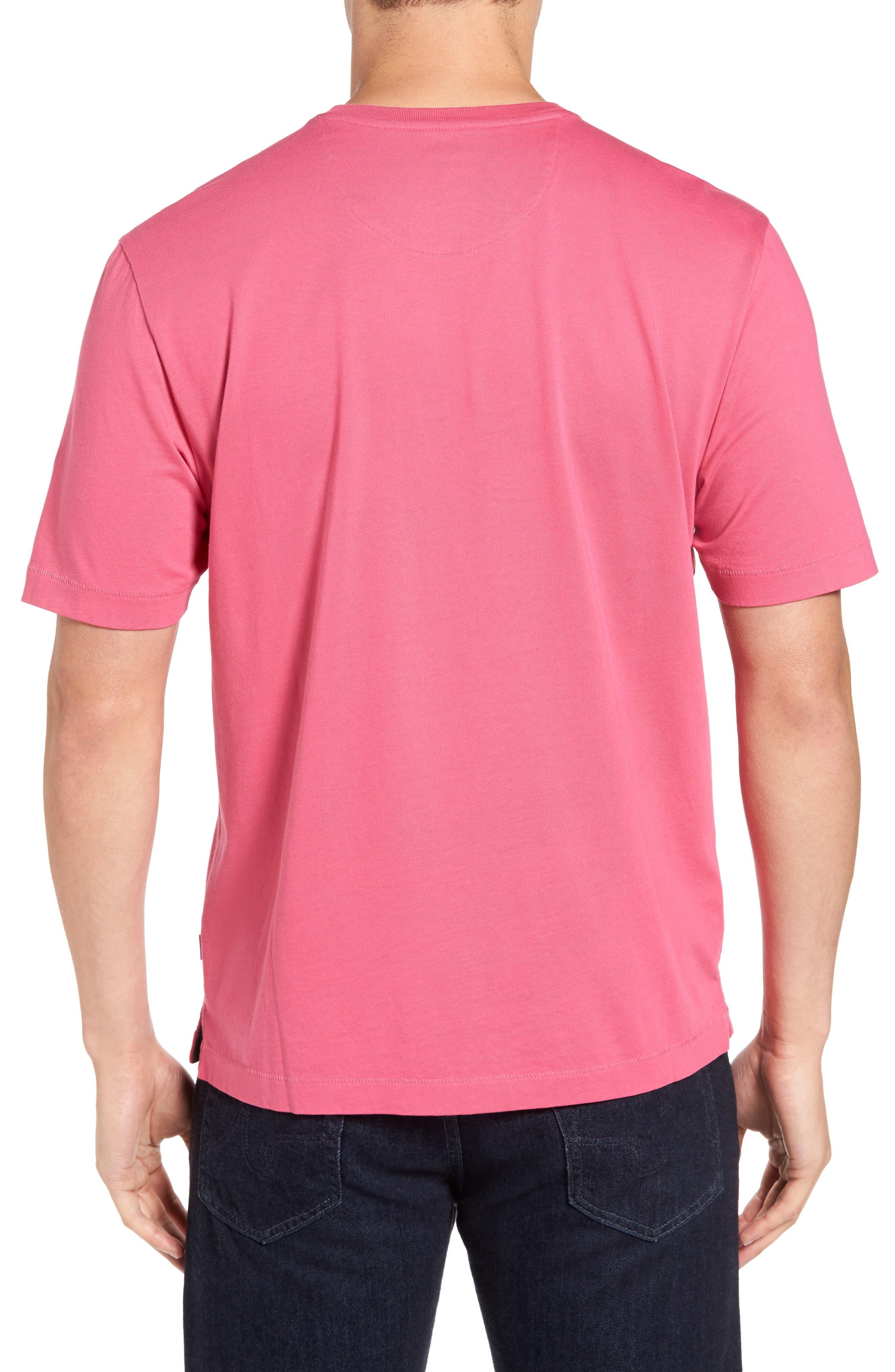 New Bali Sky Pima Cotton Pocket T-Shirt,                             Alternate thumbnail 78, color,