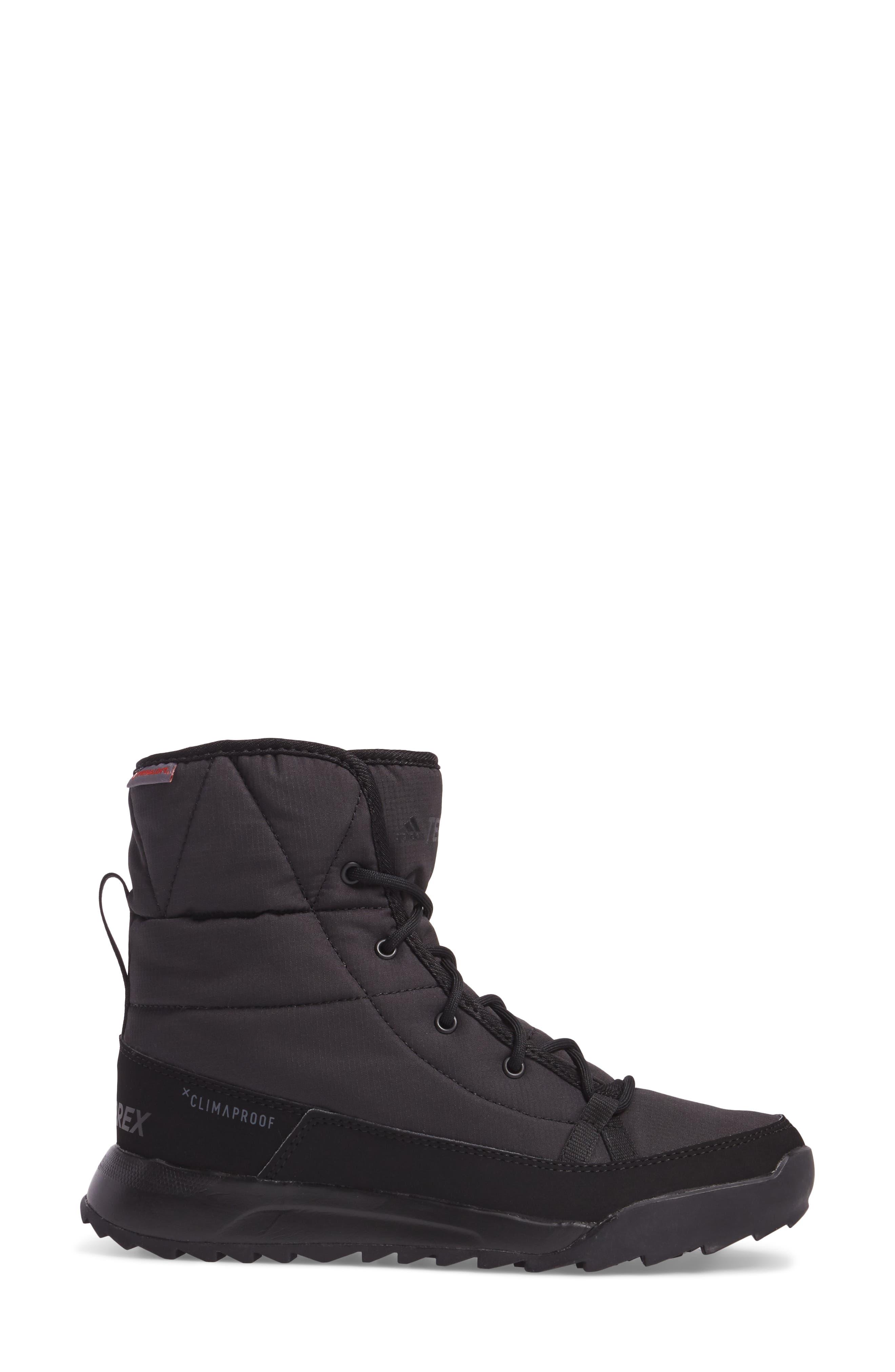 Terrex Choleah Waterproof Boot,                             Alternate thumbnail 3, color,                             001