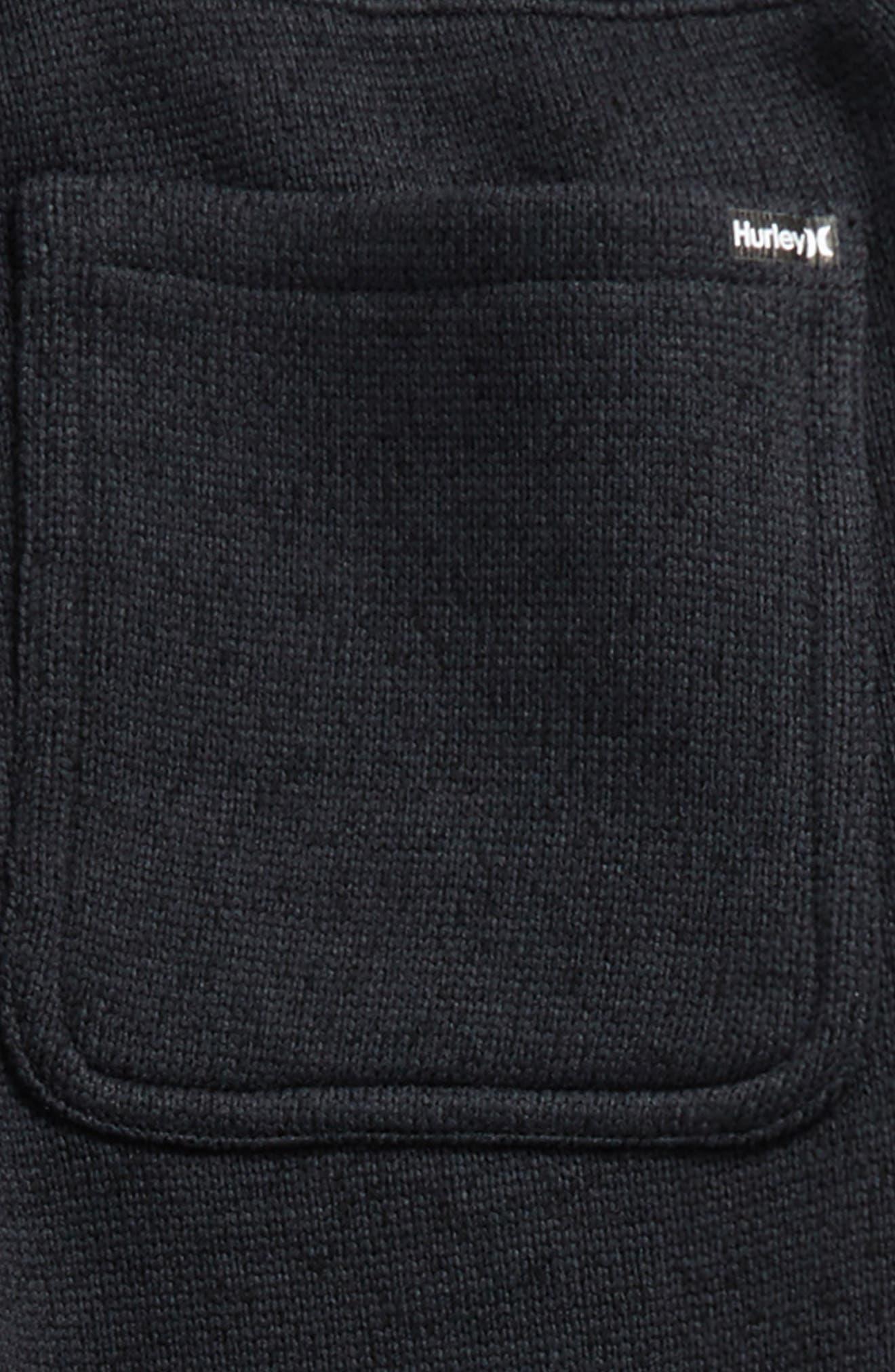 Sweater Knit Fleece Pants,                             Alternate thumbnail 5, color,