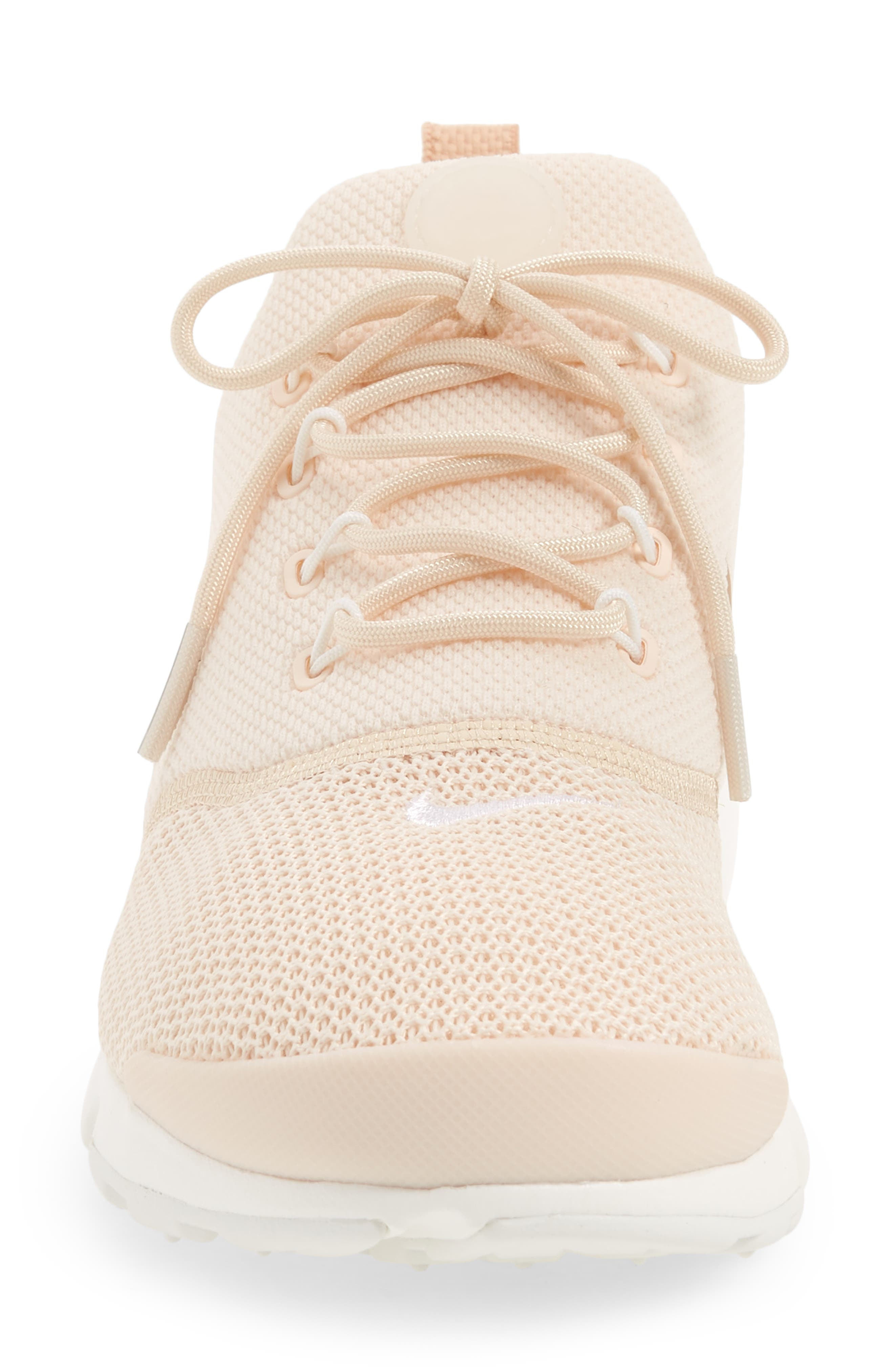 Presto Fly Sneaker,                             Alternate thumbnail 4, color,                             GUAVA ICE/ BEIGE/ SUMMIT WHITE