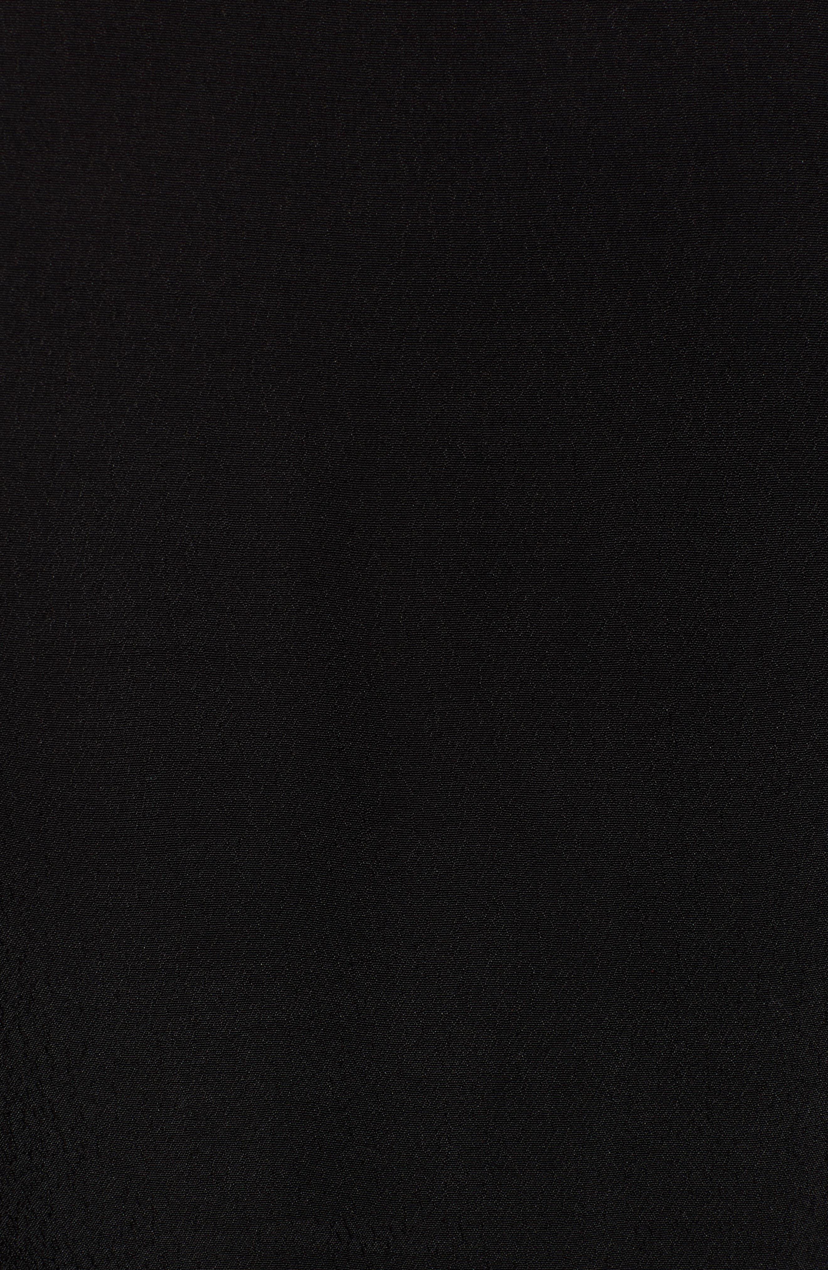 GIBSON,                             x International Women's Day Hoang-Kim Eyelash Lace Detail Date Top,                             Alternate thumbnail 5, color,                             BLACK