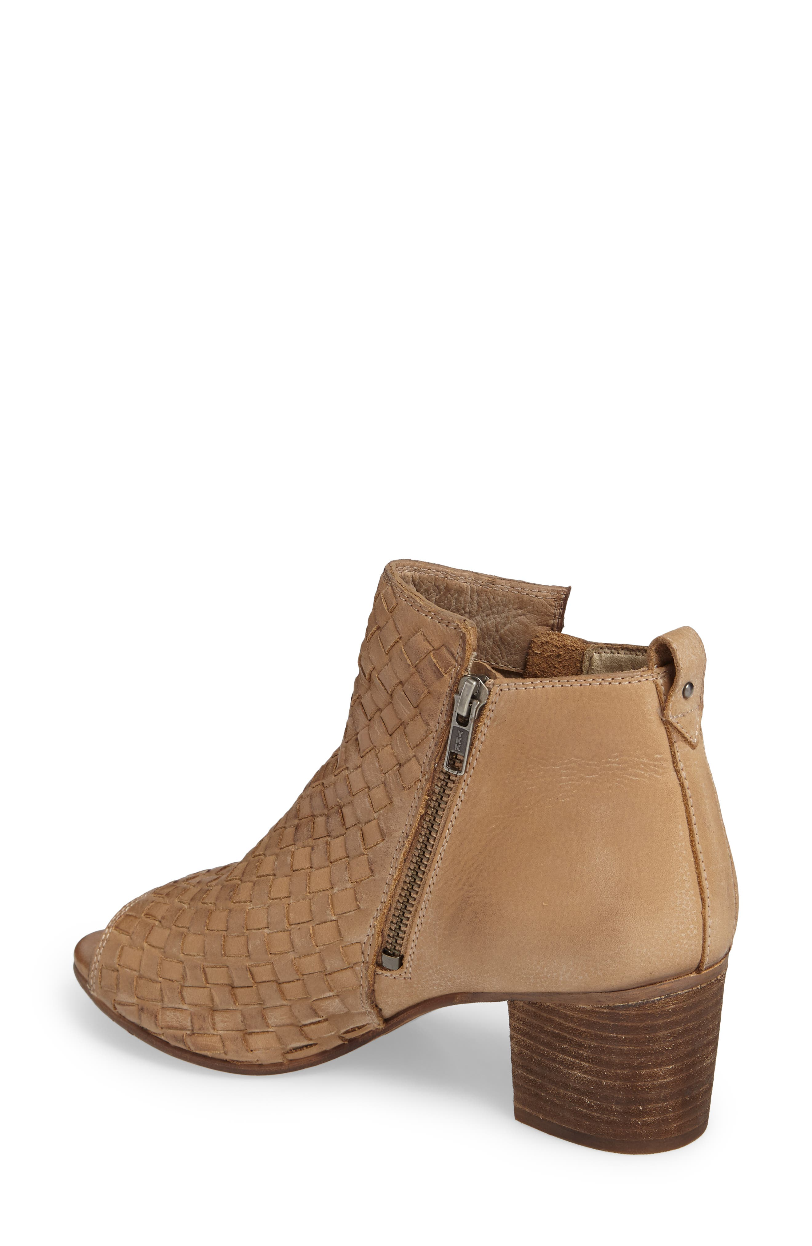 Cacey Open Toe Bootie,                             Alternate thumbnail 4, color,