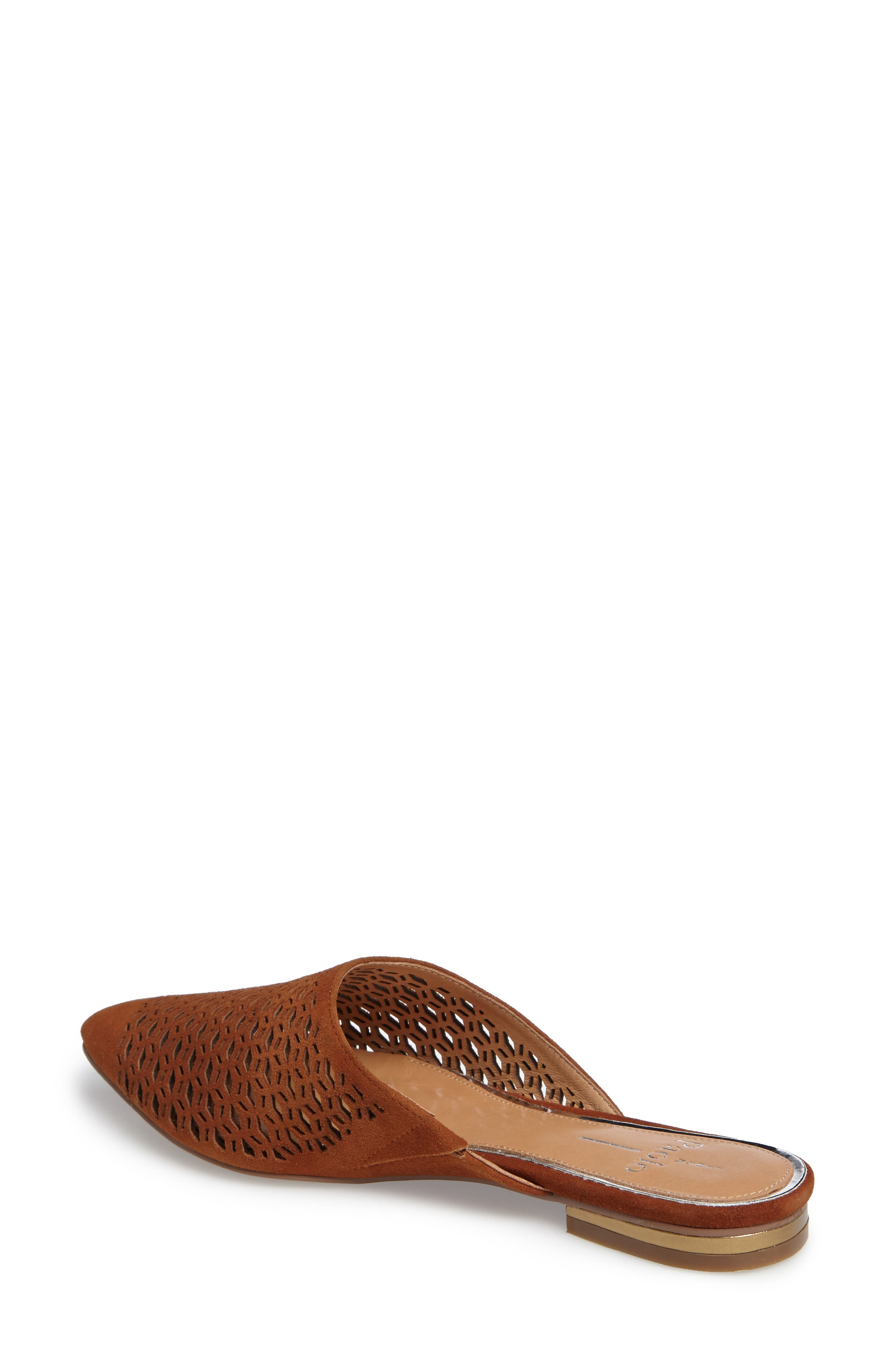 Daisy Perforated Mule,                             Alternate thumbnail 8, color,