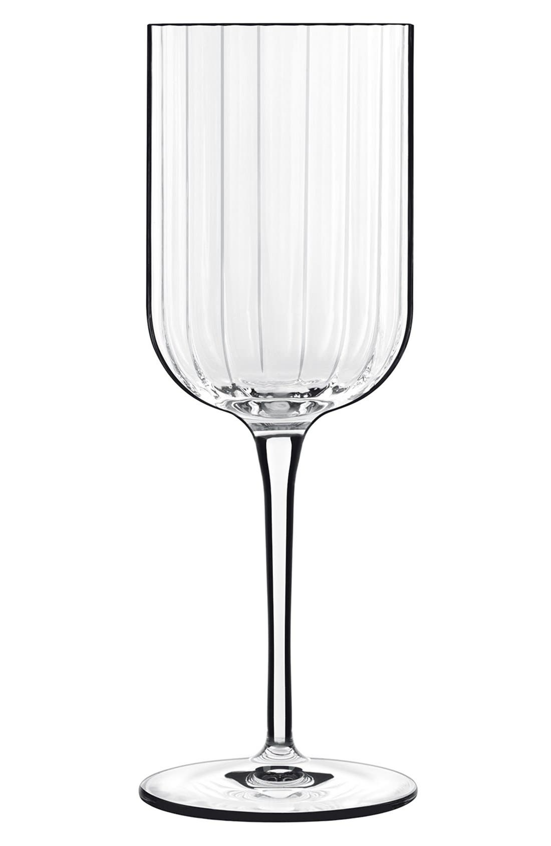 'Bach' White Wine Glasses,                             Main thumbnail 1, color,                             100