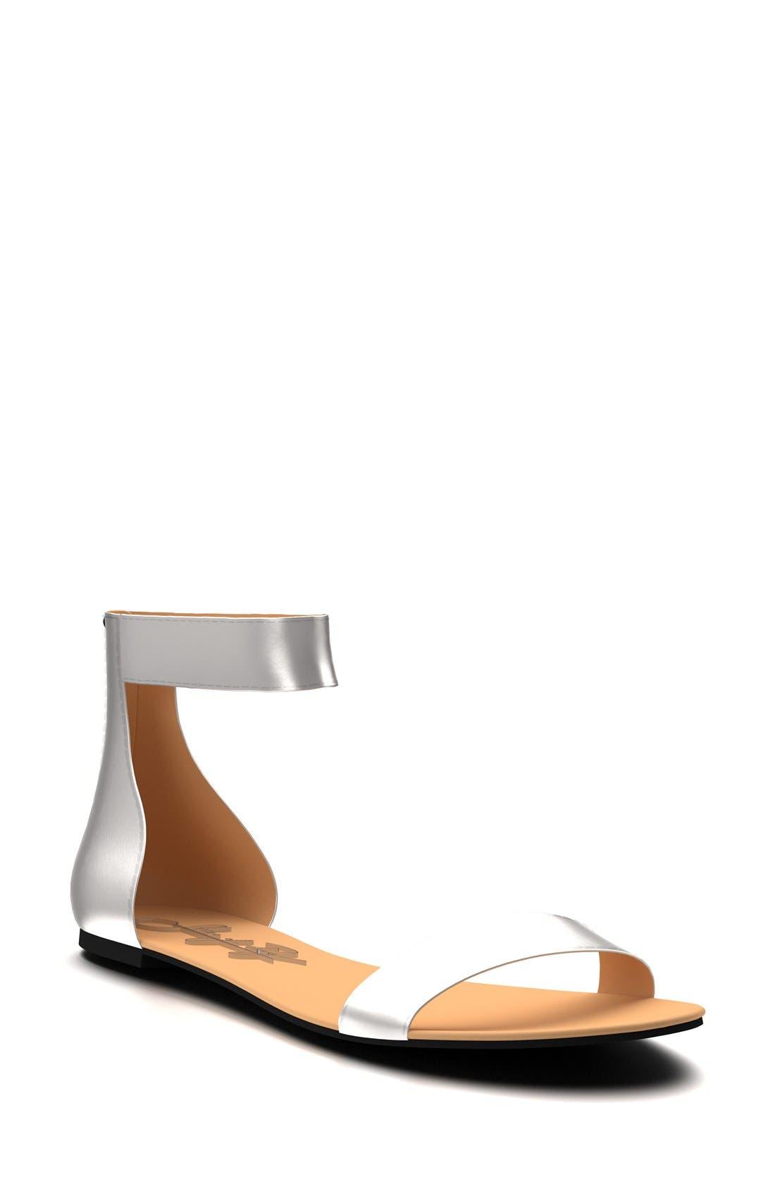 Ankle Strap Sandal,                             Main thumbnail 3, color,